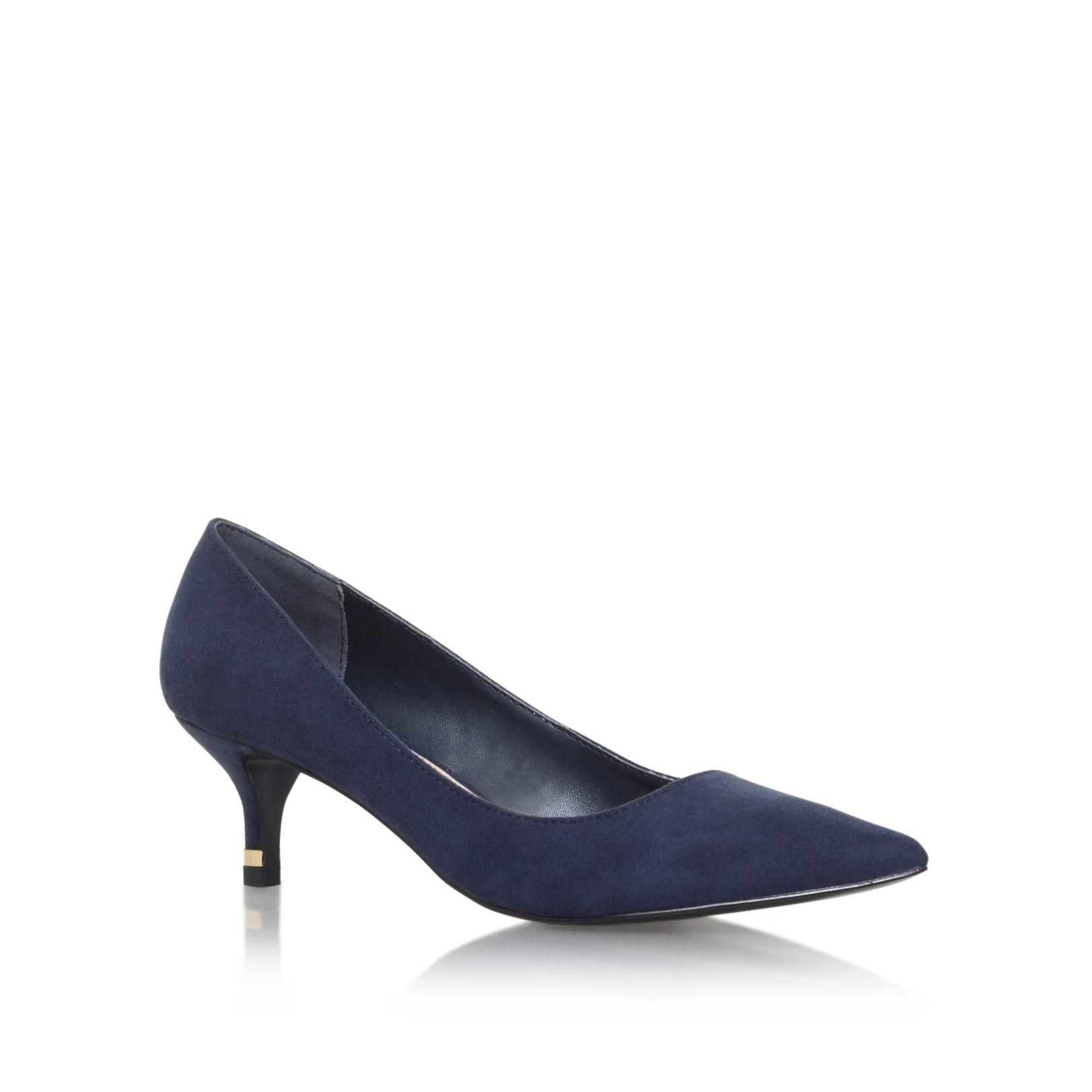 Navy Court Shoes Mid Heel Australia