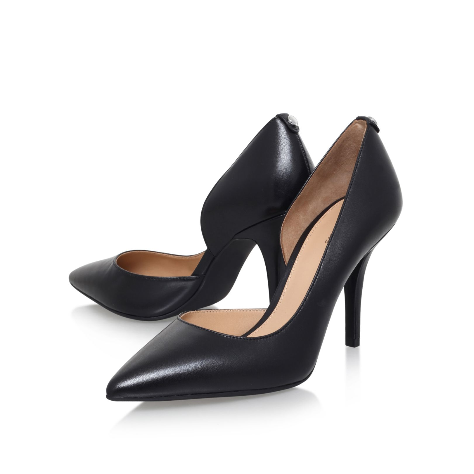 Lyst - Michael Kors Natalie High Pump Court Shoes In Black