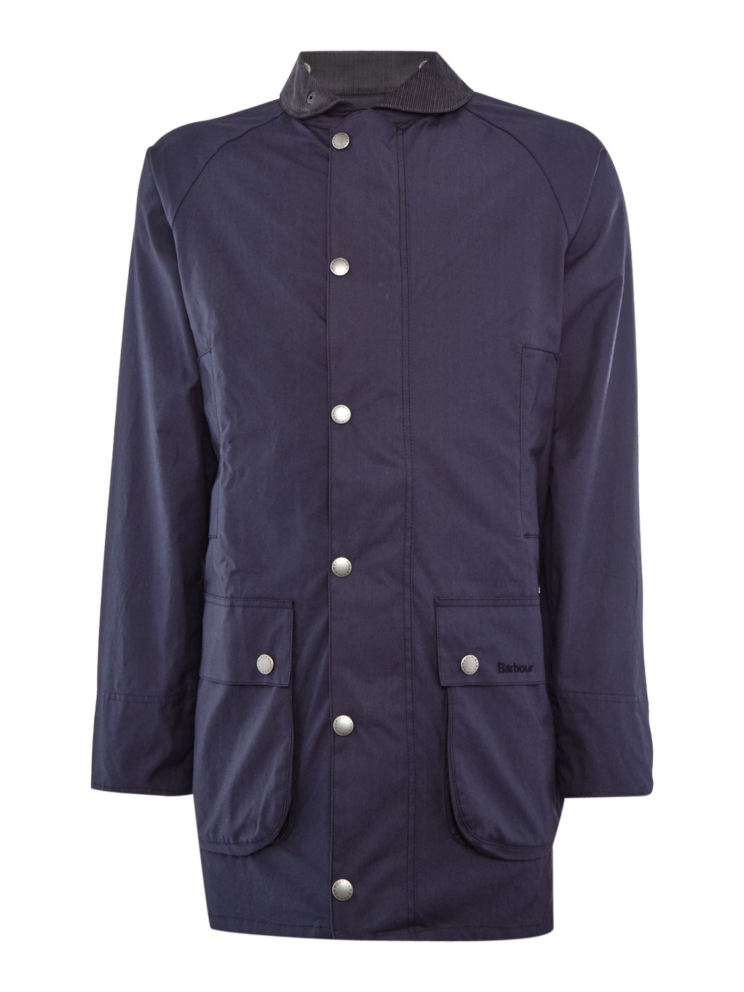 Barbour Cotton Classic Jacket in Blue for Men