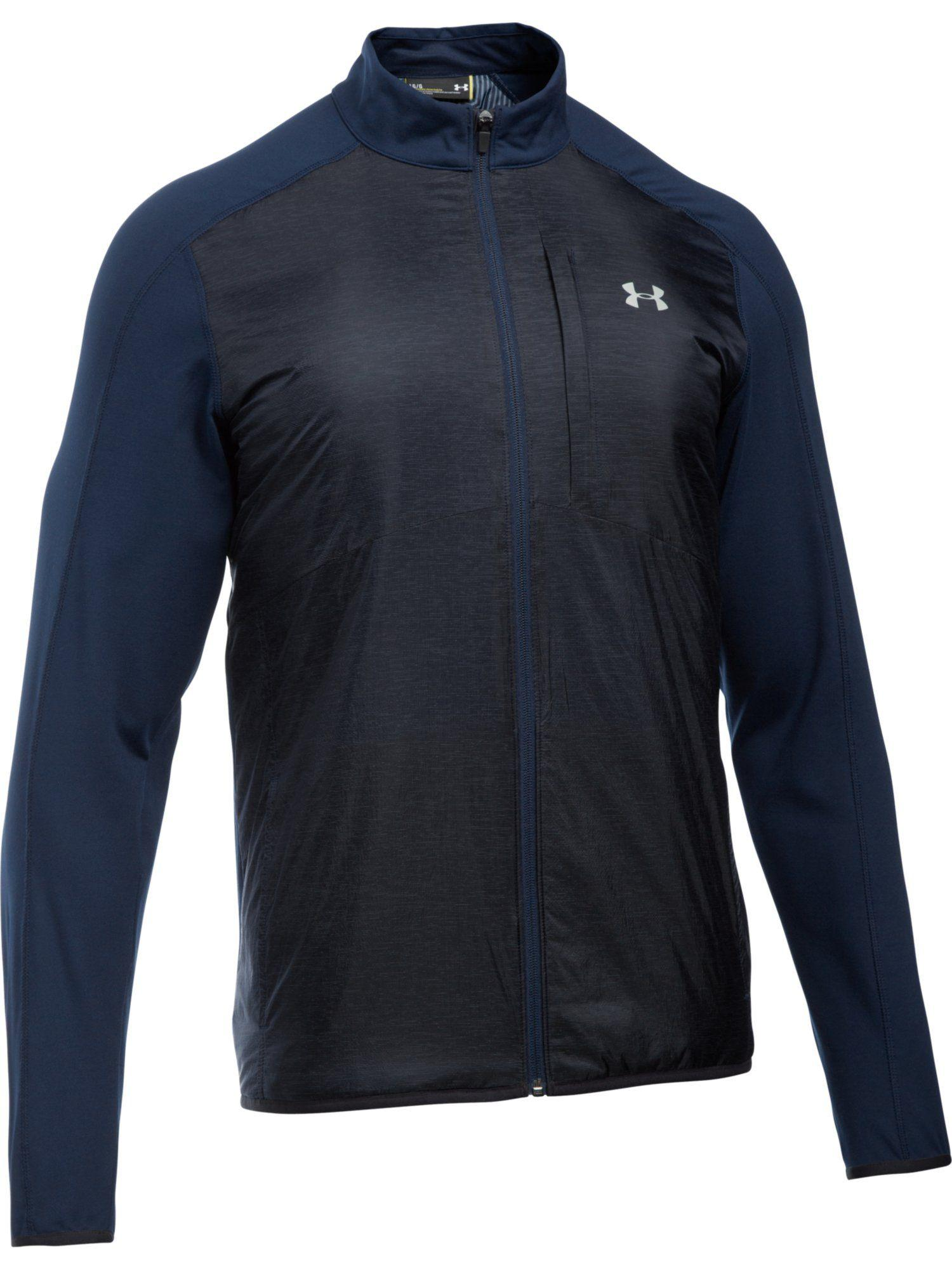 Lyst Under Armour Cgi Insulated Jacket In Blue For Men