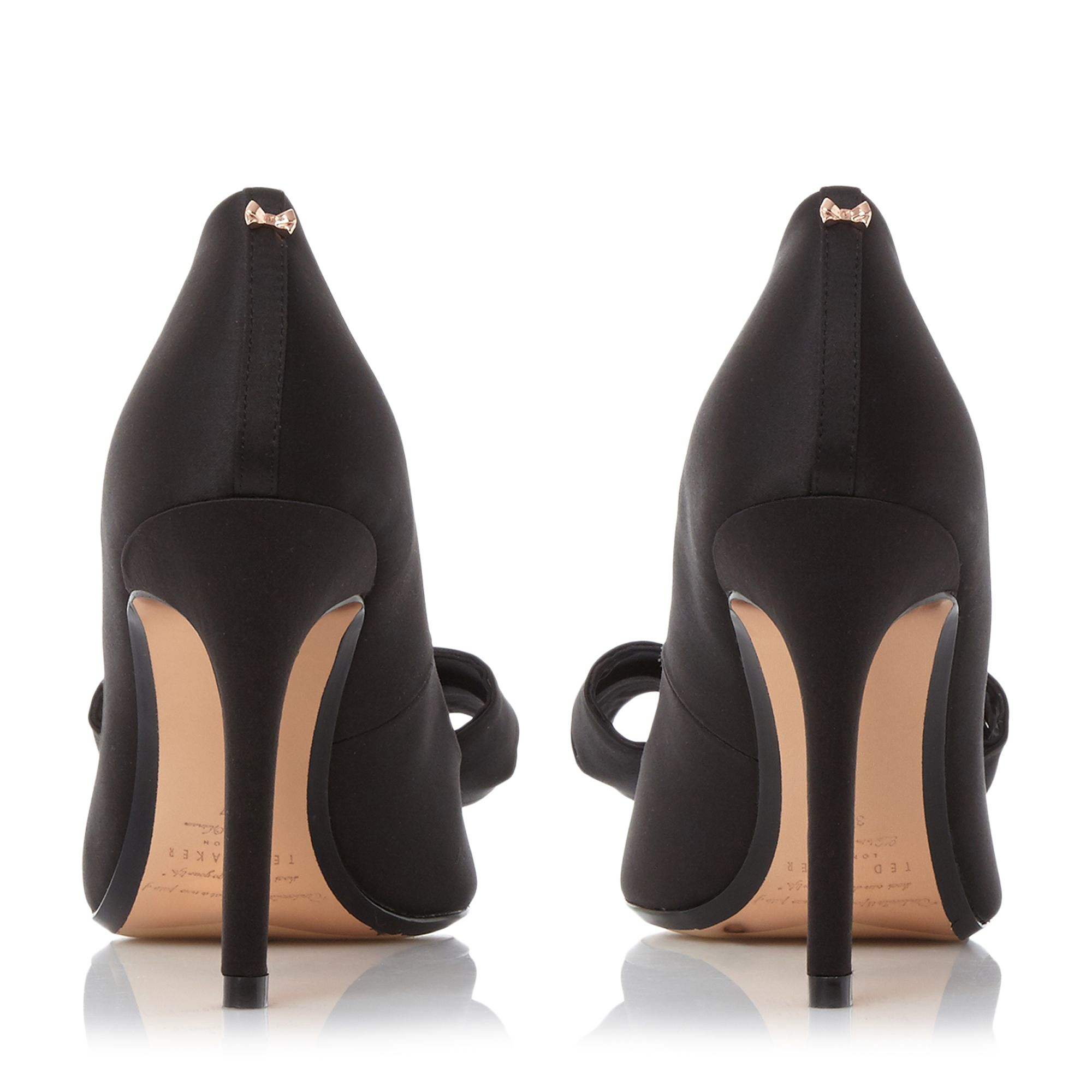cb880983fa73c1 Ted Baker Ichlibi  Satin Bow Court Shoes in Black - Lyst