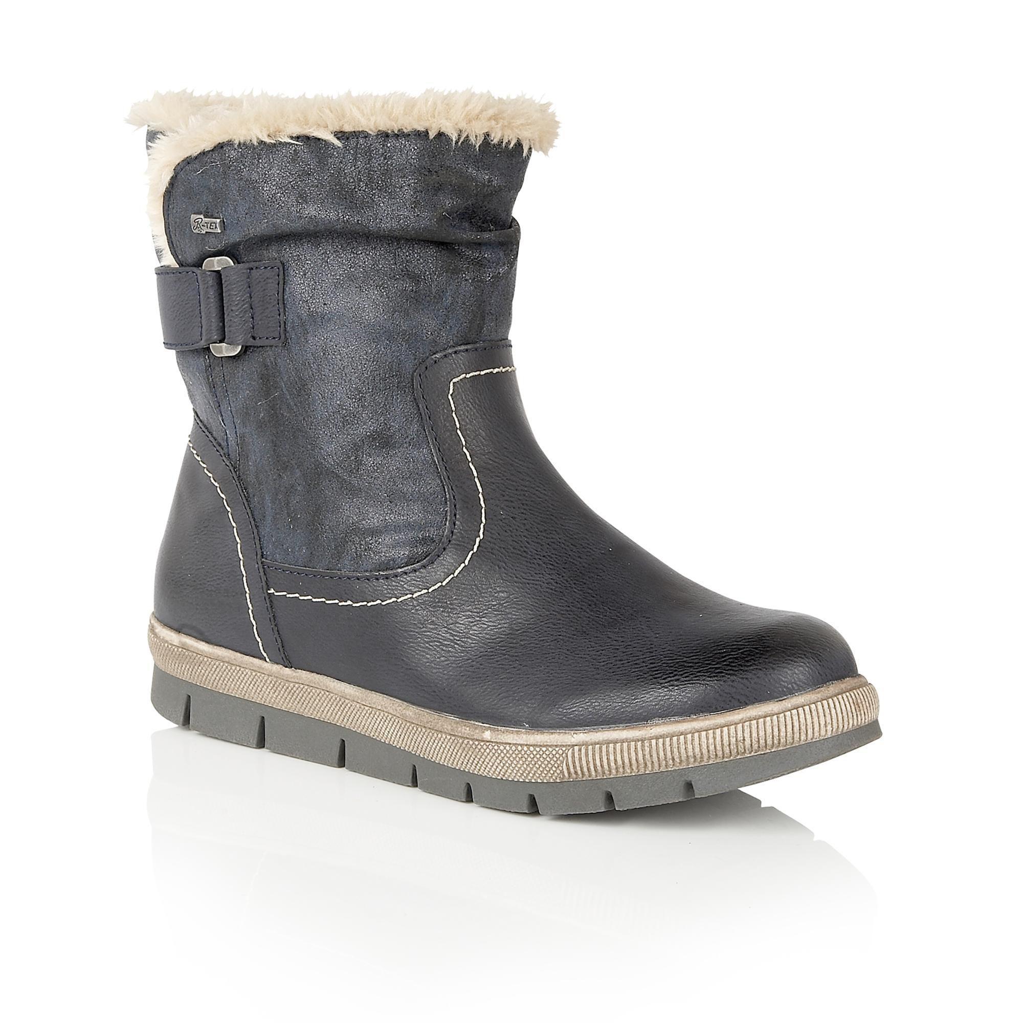 Lotus Relife Rya Calf Boots In Brown Lyst