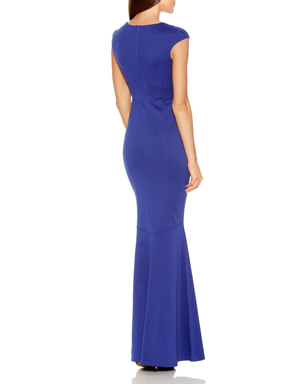 Lyst quiz blue bodycon maxi dress in blue Fashion designer style quiz