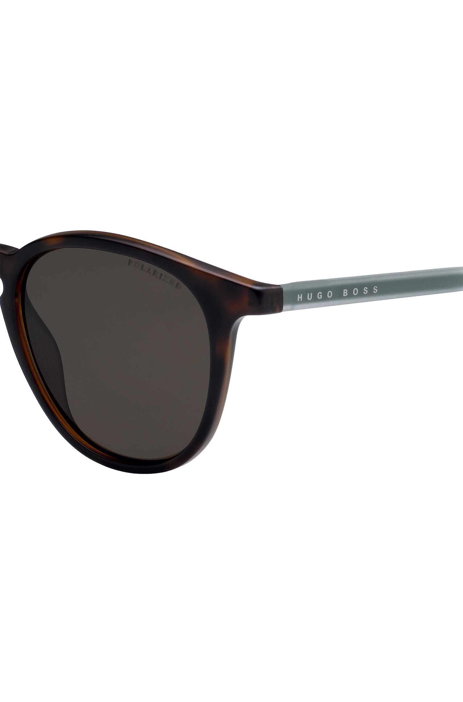 63fe9e9465 BOSS - Brown Havana-optyl Sunglasses With Polarised Lenses for Men - Lyst.  View fullscreen