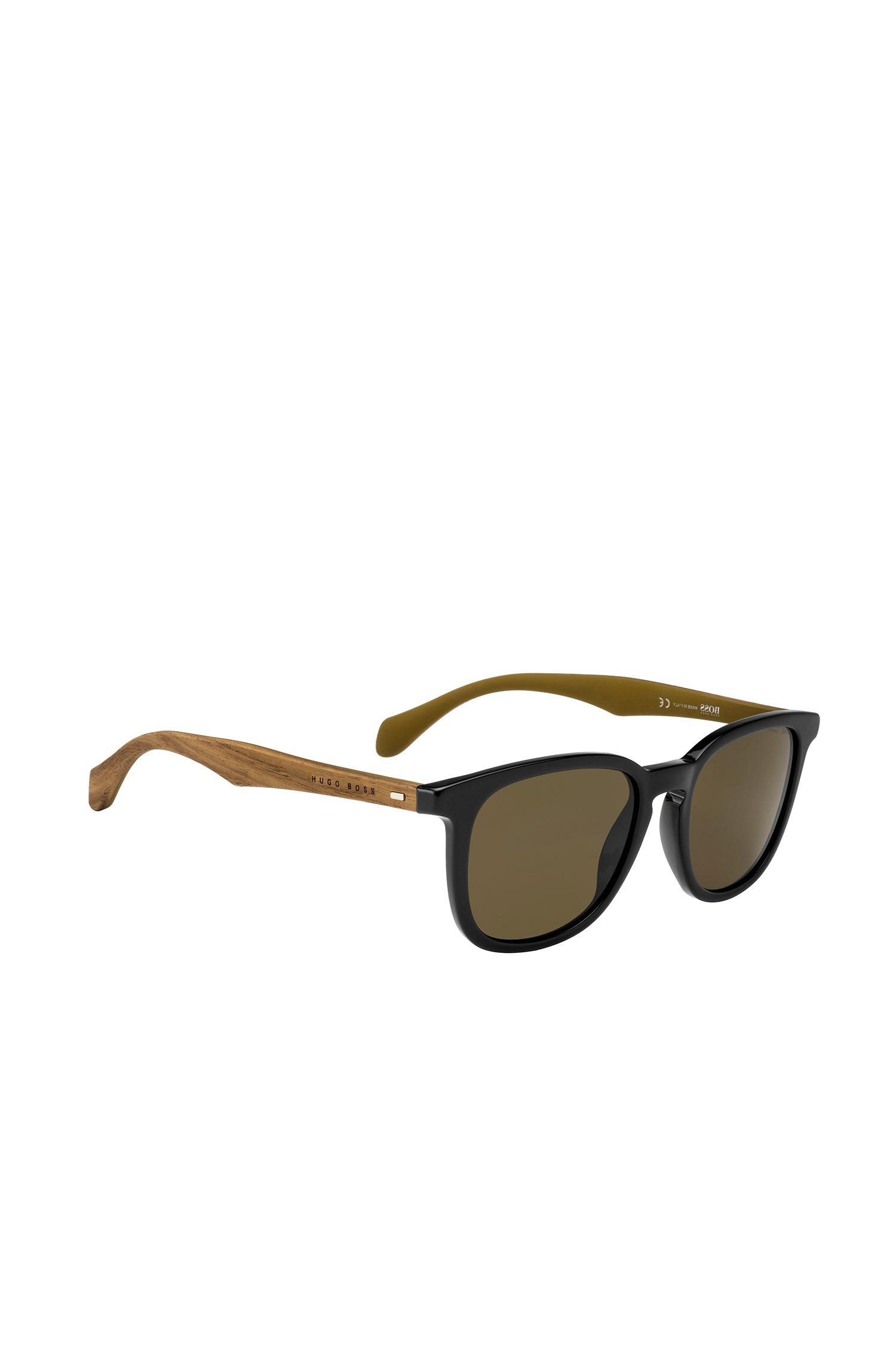 Sunglasses with fully-rimmed frames and transparent temples: BOSS 0849/S BOSS y6ZPOs5