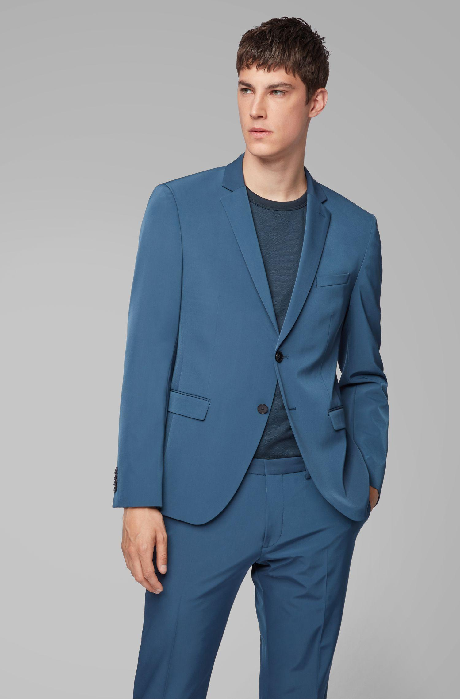 d7b2c33c BOSS Extra-slim-fit Suit With Stitch-free Finishing in Blue for Men ...