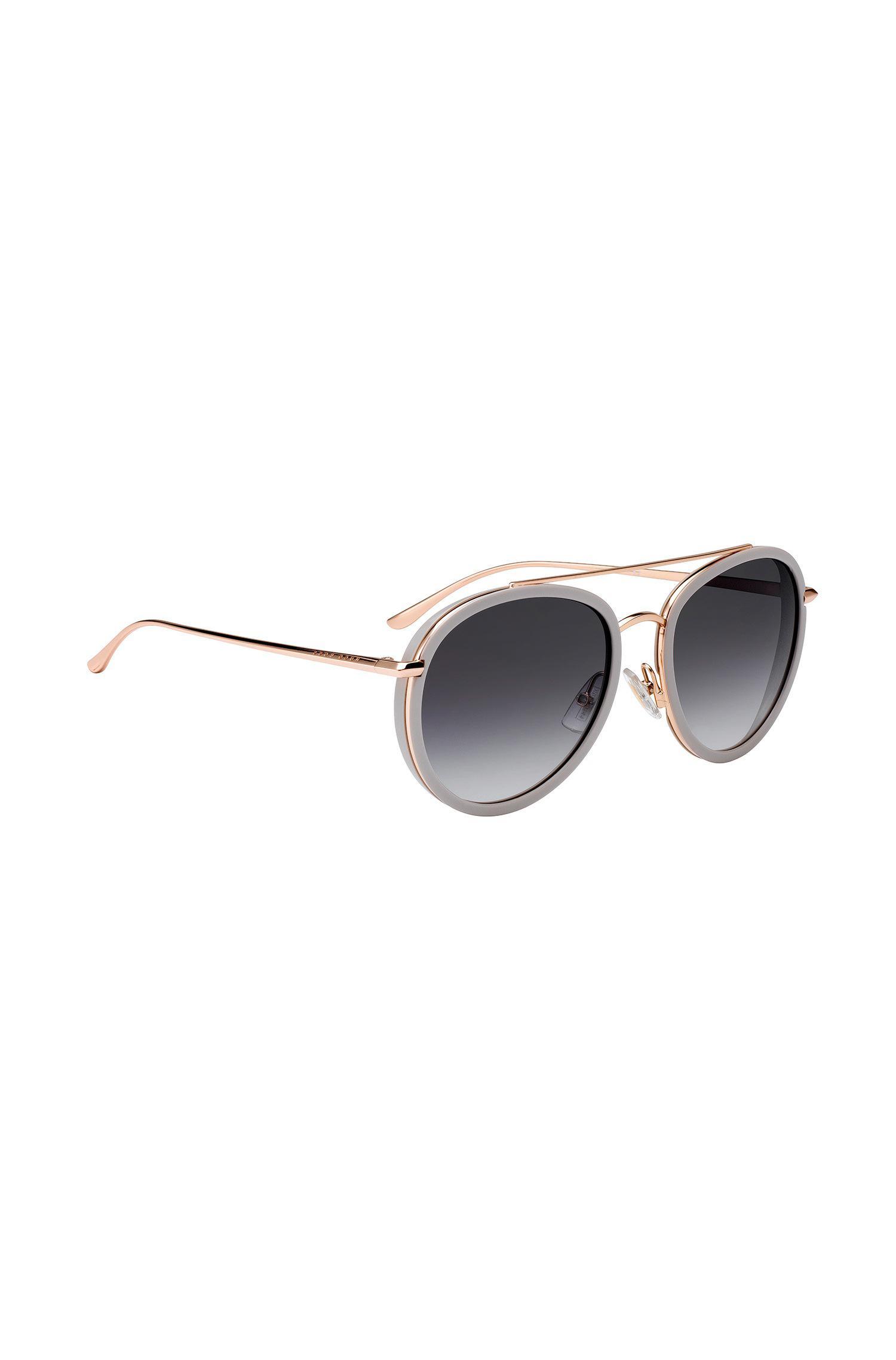 Gafas De Sol De Acetato Con Doble Jefe Puente FA0KSSTvG