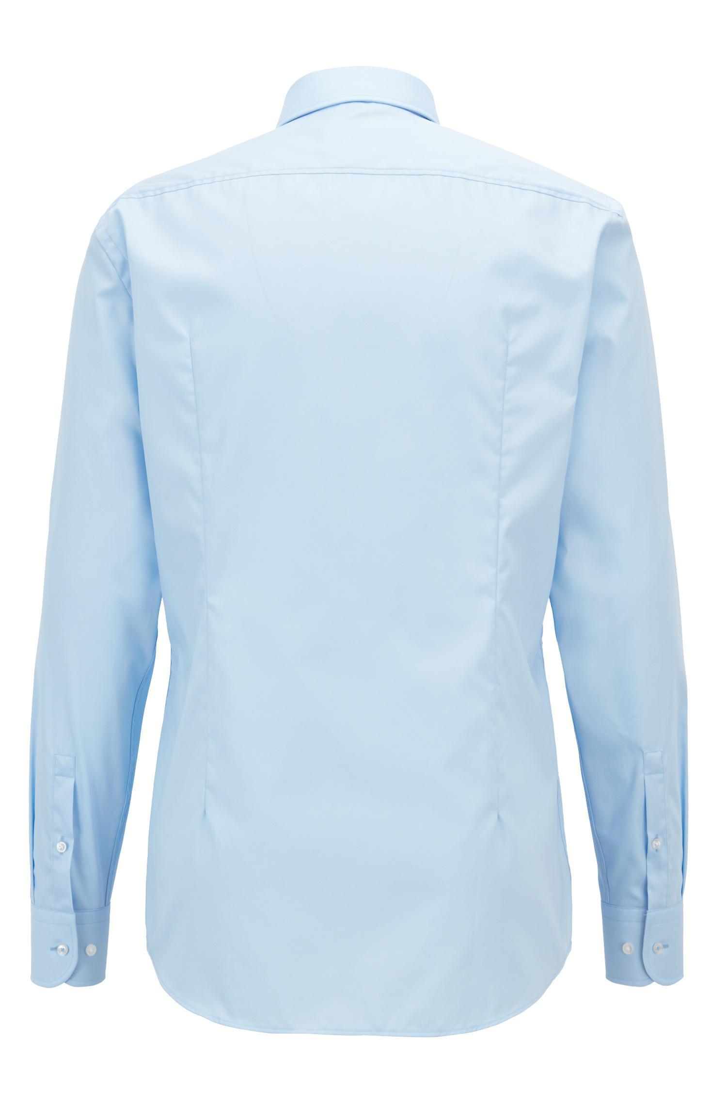 b9208de0 Lyst - Boss Slim-fit Shirt In Easy-iron Austrian Cotton Poplin in ...