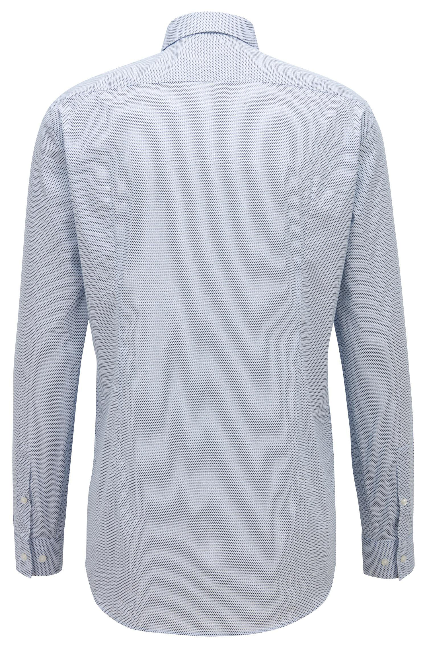 972a87811 Lyst - BOSS Cotton Slim-fit Shirt With Coolest Comfort Finishing in ...