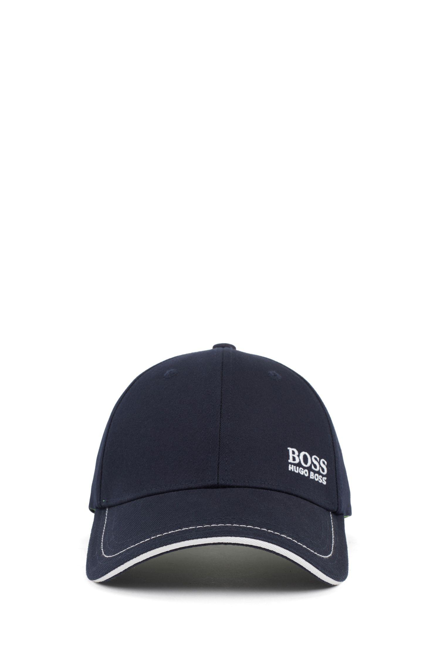 c4ec11fe8 BOSS - Blue 'cap' | Cotton Twill Hat for Men - Lyst. View fullscreen