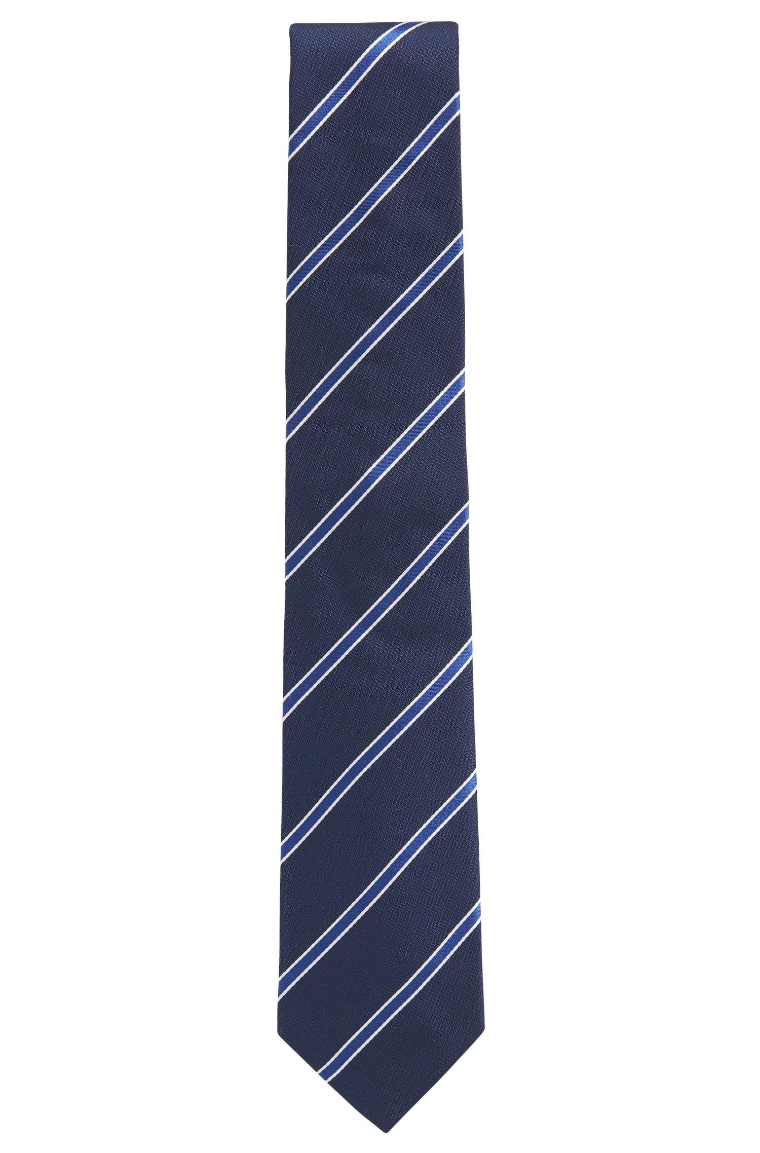 Cheap Lowest Price Diagonal striped tie in silk jacquard BOSS Discount 2018 s3wAVdWyQ3