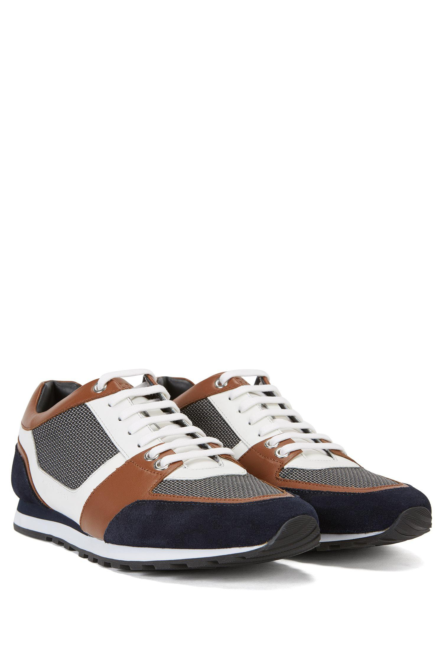 Visa Payment Online High Quality Online Colourblock trainers with hybrid uppers BOSS Clearance Shop For WJIUu