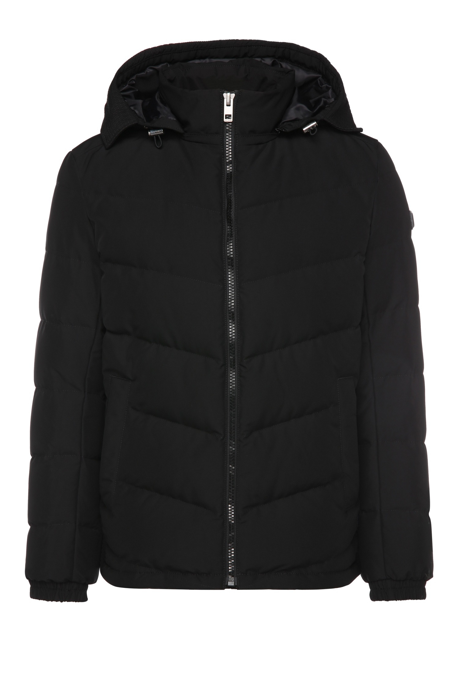 28d63bc5e19d BOSS Orange Regular-fit Down Jacket In Quilted Fabric Blend ...
