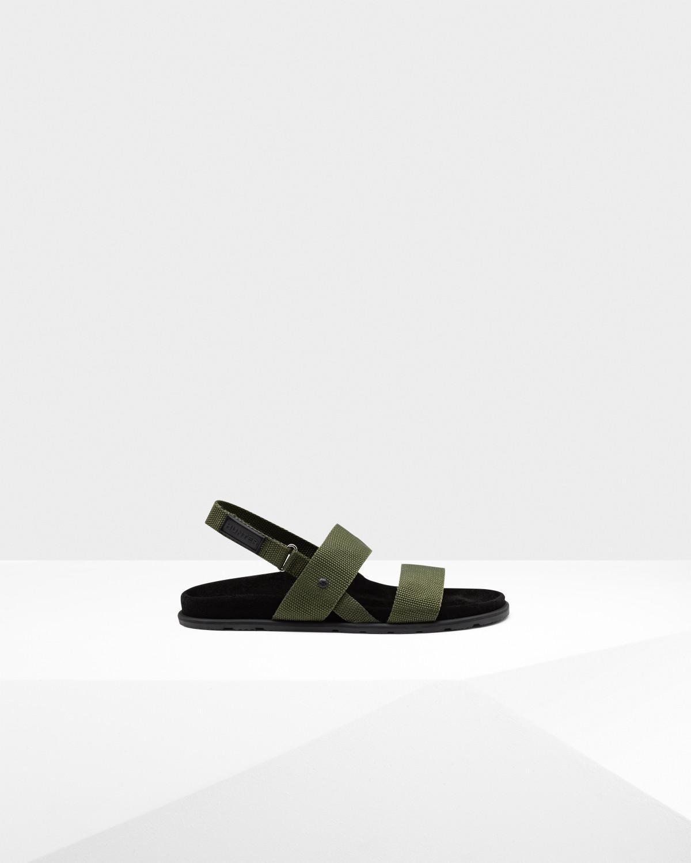 1d105c2a5f77 Hunter Men s Original Double Strap Sandal for Men - Lyst