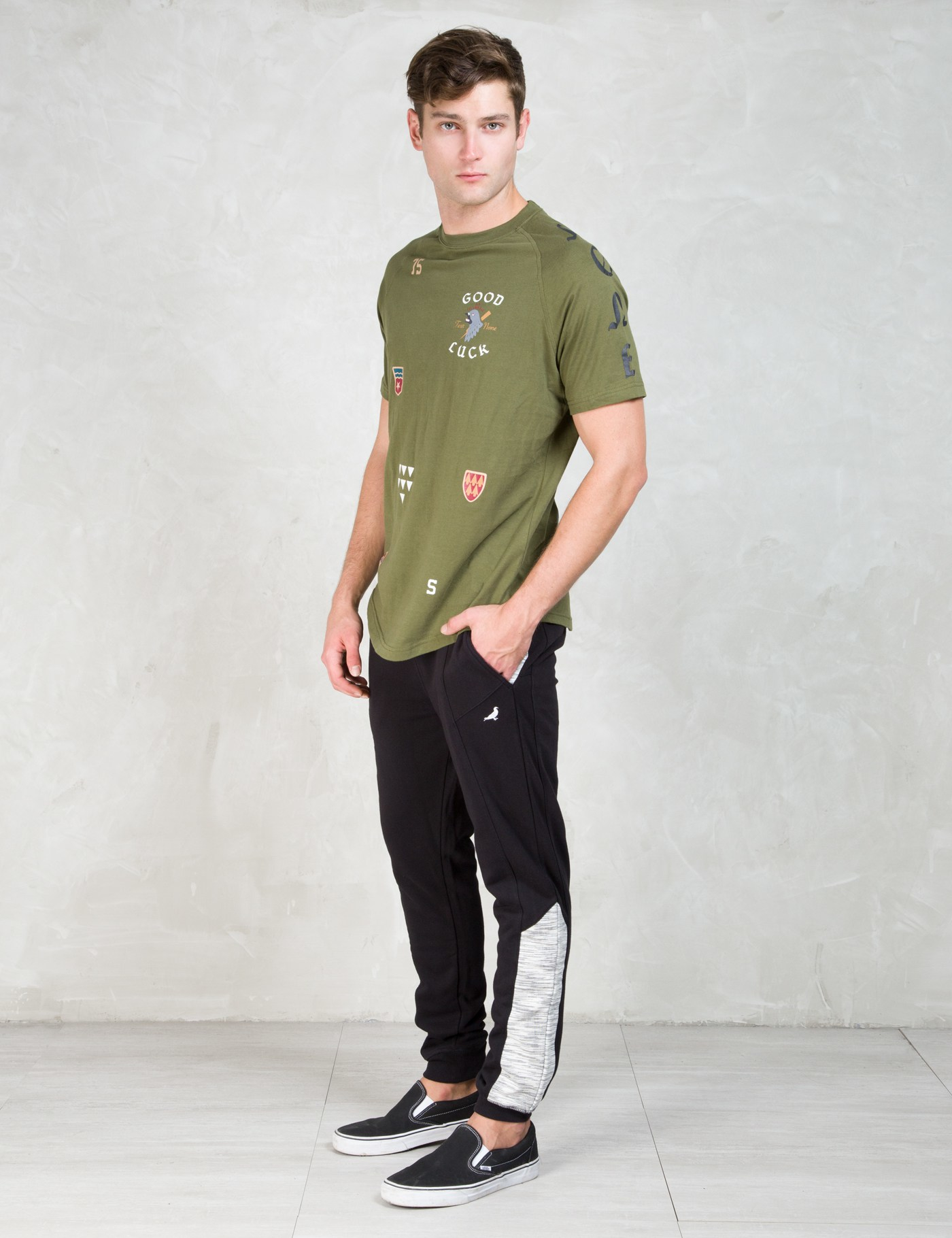 staple black tephra sweatpants in black for lyst