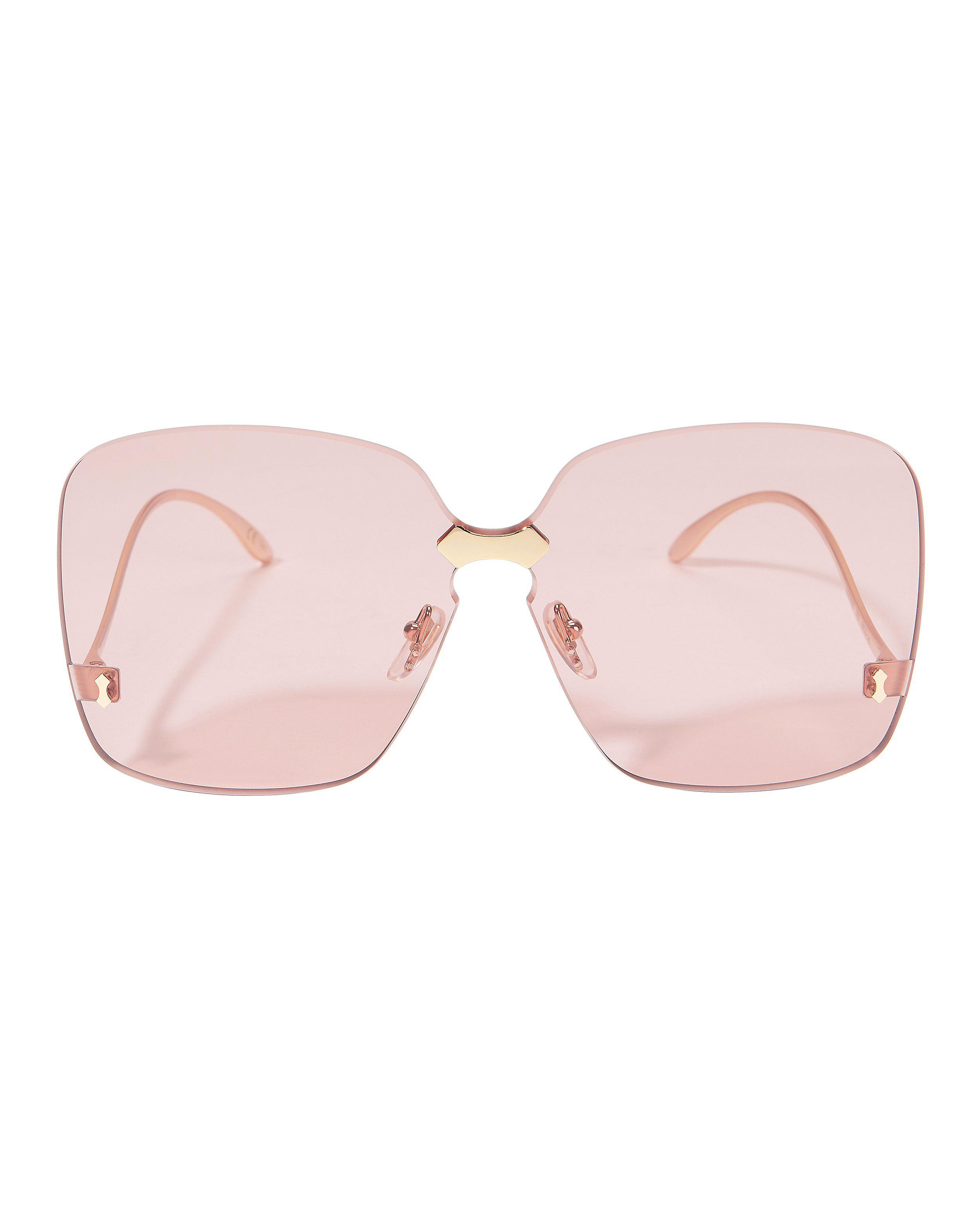 e9a3daef3b0 Lyst - Gucci Square Sunglasses in Metallic