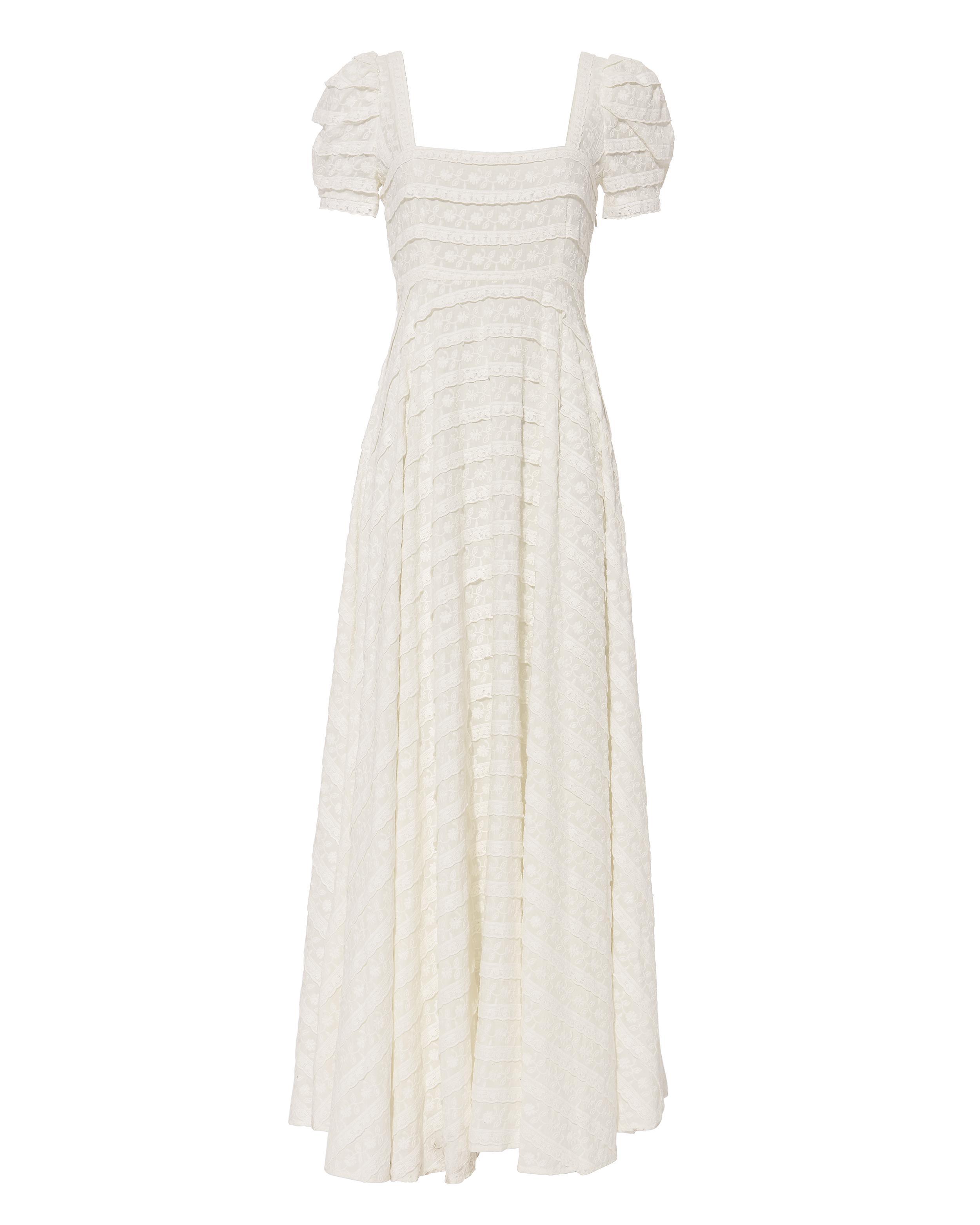 2a5cc2a3a1b34 LoveShackFancy Ryan Maxi Dress in White - Lyst