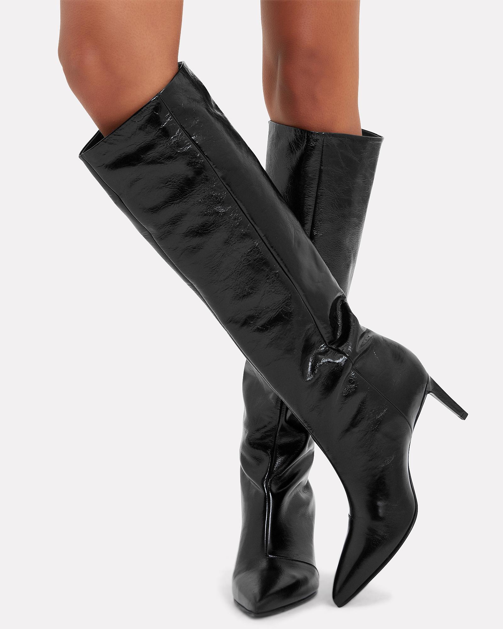 e486ba0ea42 Lyst - Rag   Bone Beha Black Leather Boots in Black