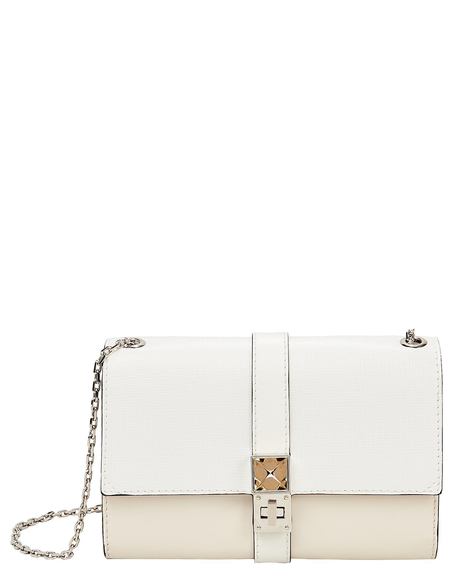 790544c3ef75 Lyst - Proenza Schouler Ps11 Ivory Chain Clutch Bag in White