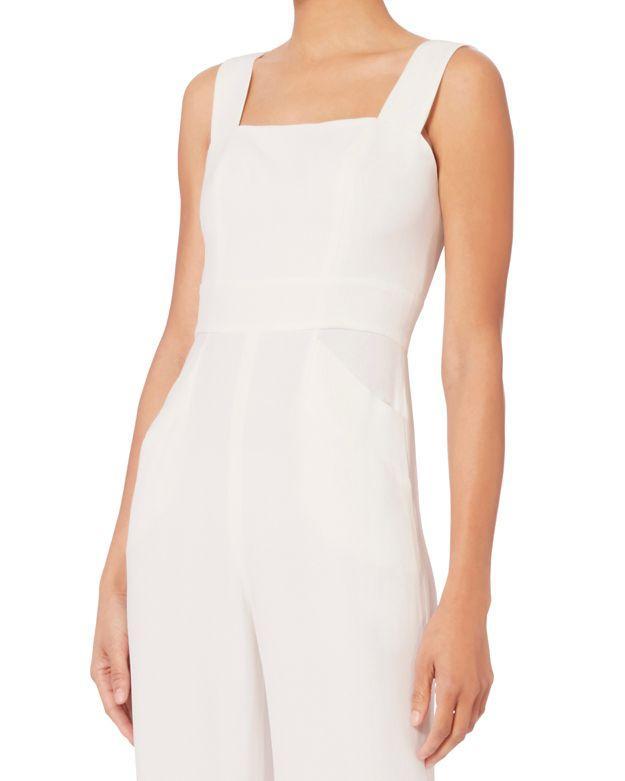 893f1dfbf8a4 Lyst - Alexis Juno Side Slit Jumpsuit in White