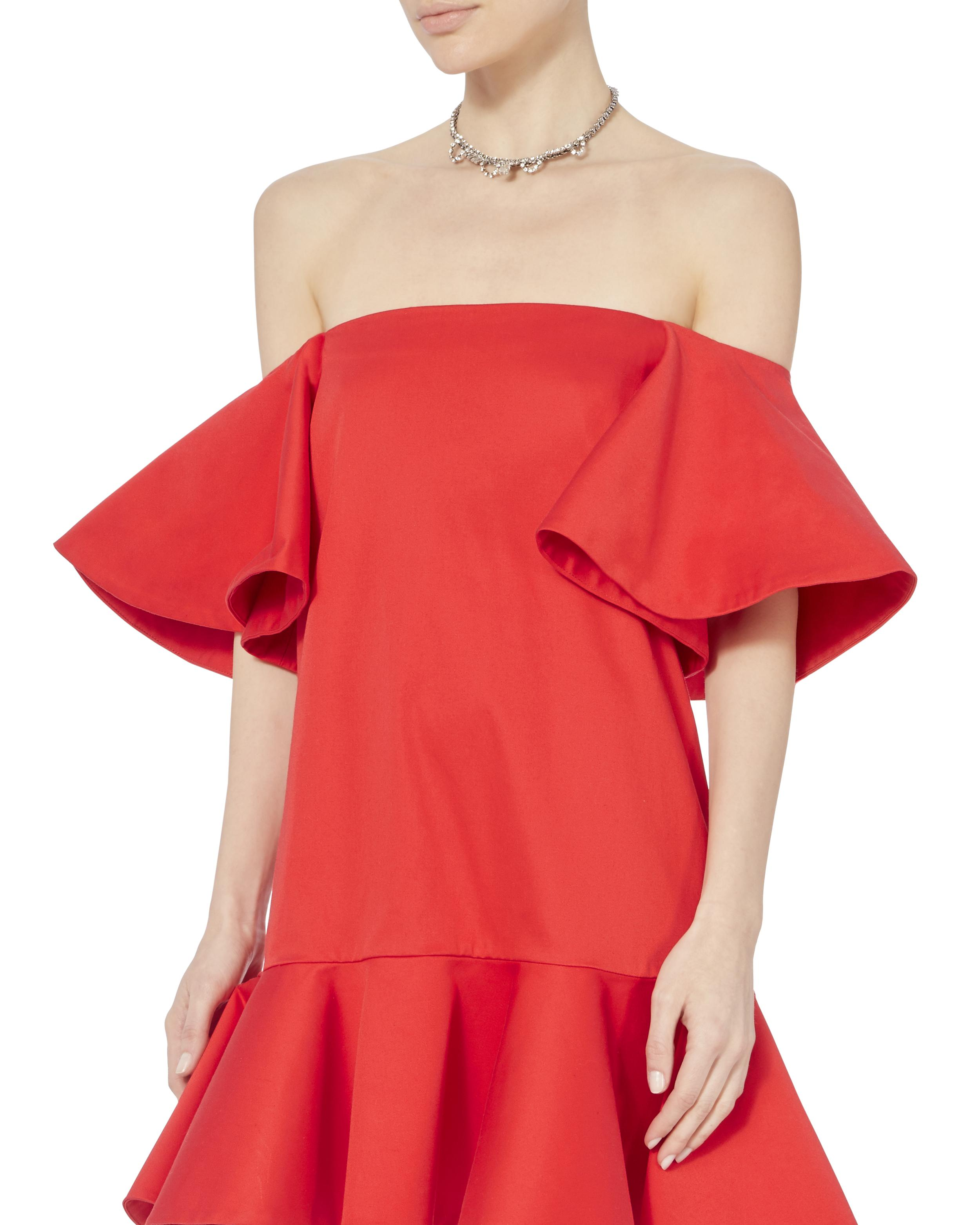 64f31f2371d Gallery. Previously sold at  INTERMIX · Women s Off The Shoulder Dresses