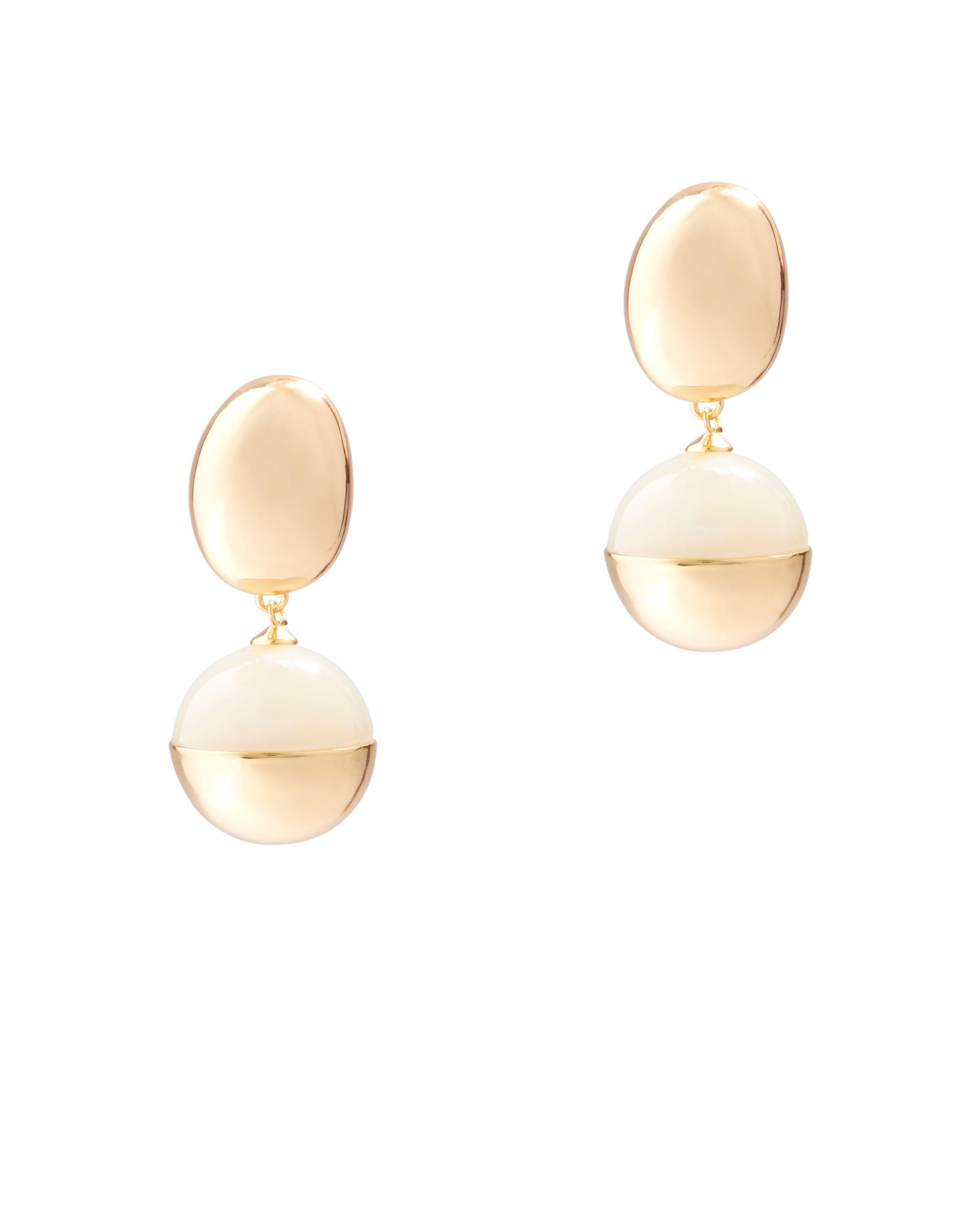 Lizzie Fortunato Echo earrings - Metallic sqvowuXg