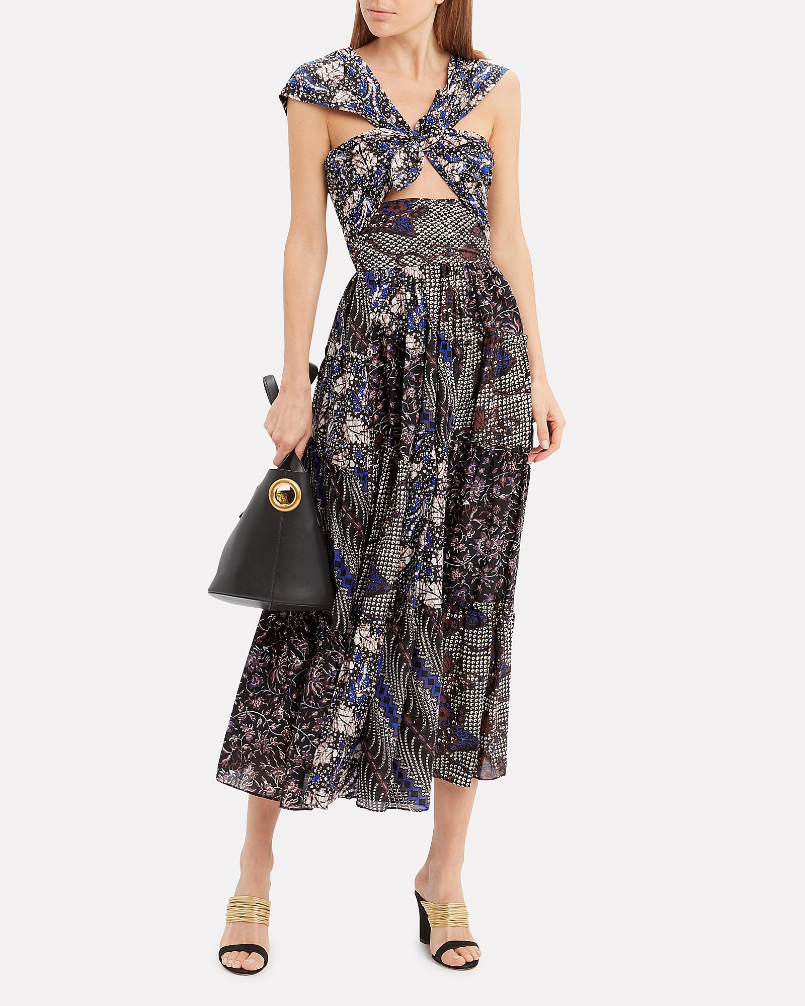 a9822d14a48 Lyst - Ulla Johnson Naaila Printed Dress in Black