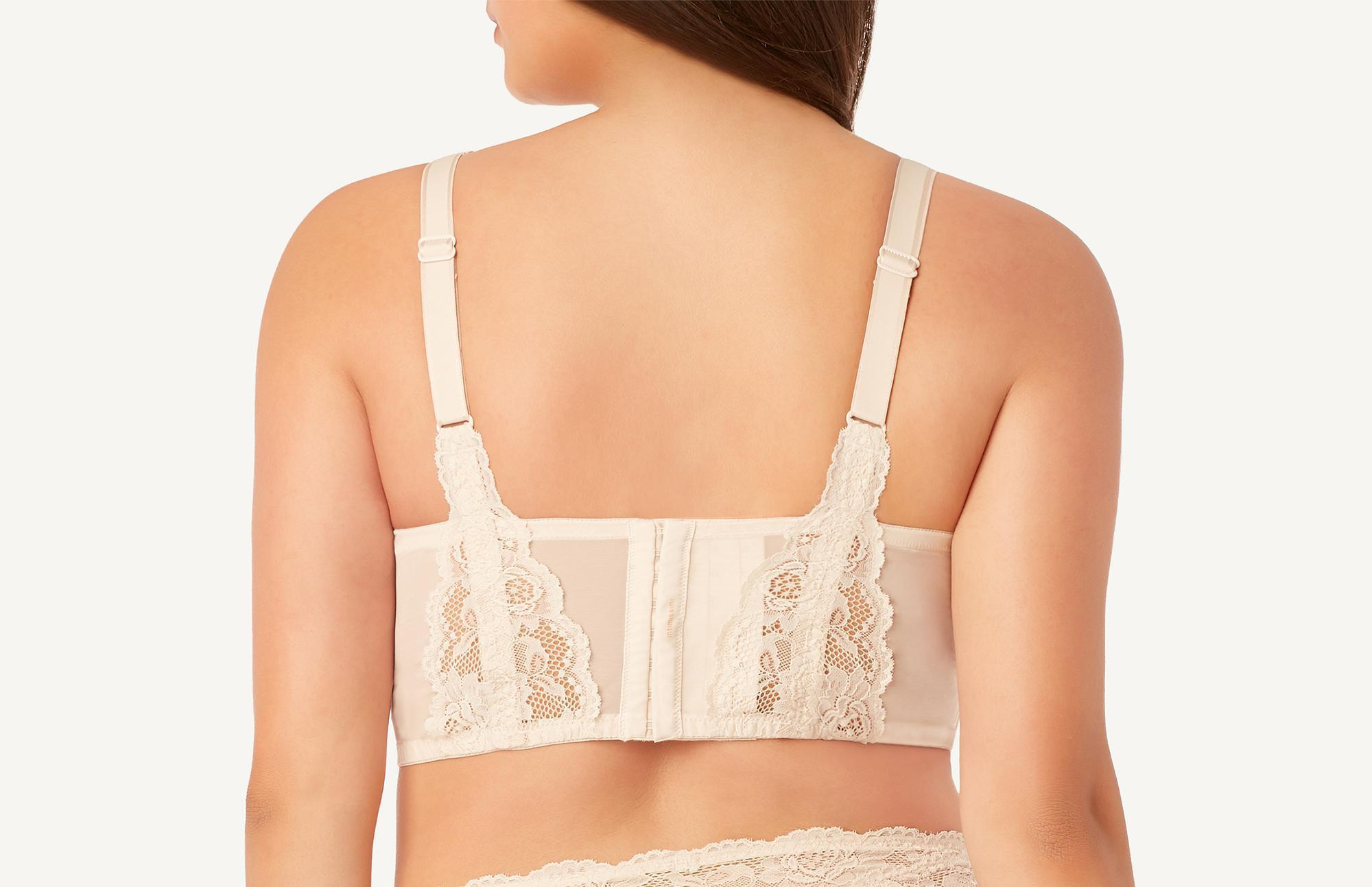 8d9a555c6151d Lyst - Intimissimi Iris Lace Bustier Bra in Natural
