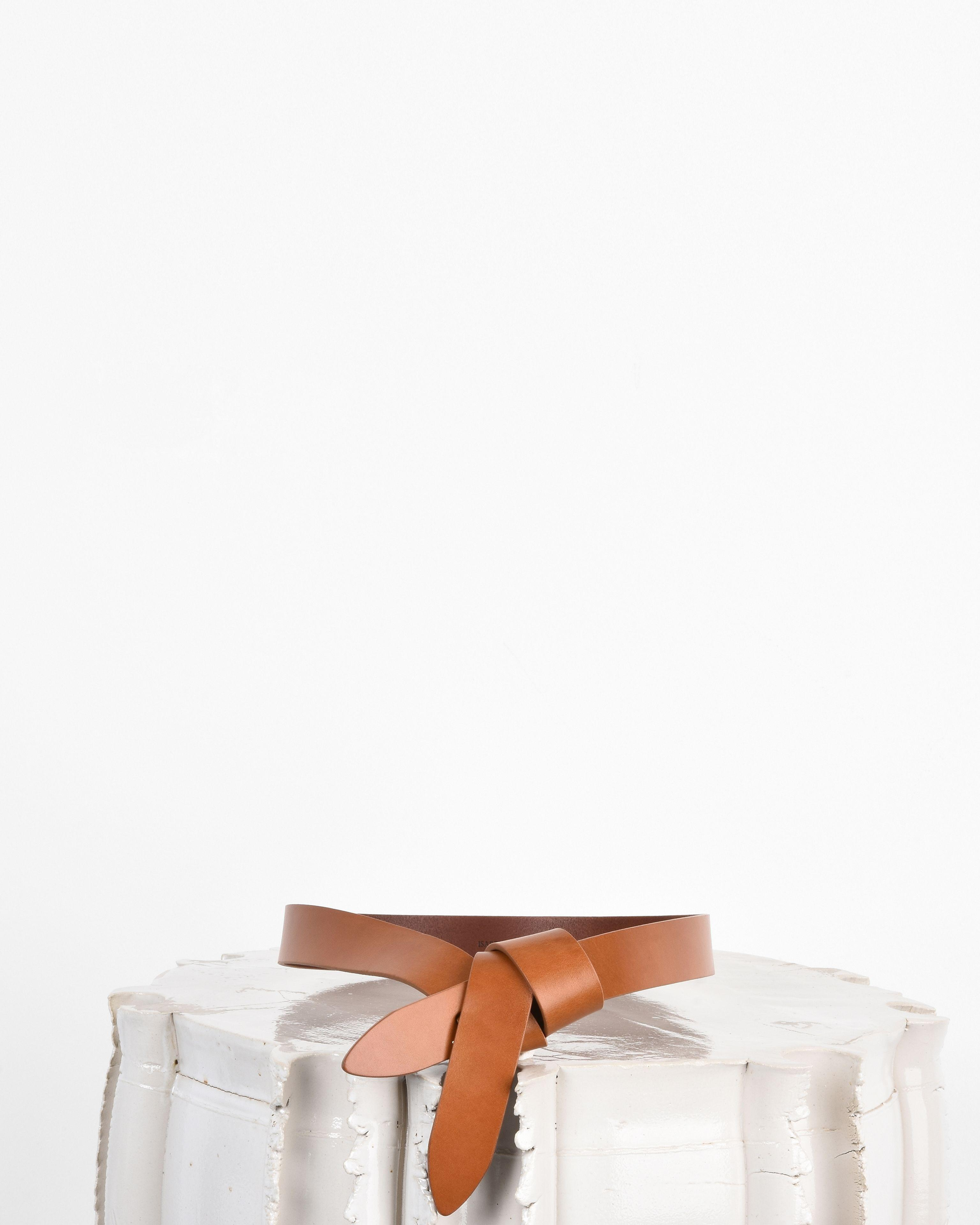 Lecce smooth-leather belt Isabel Marant KR3MijQTQg