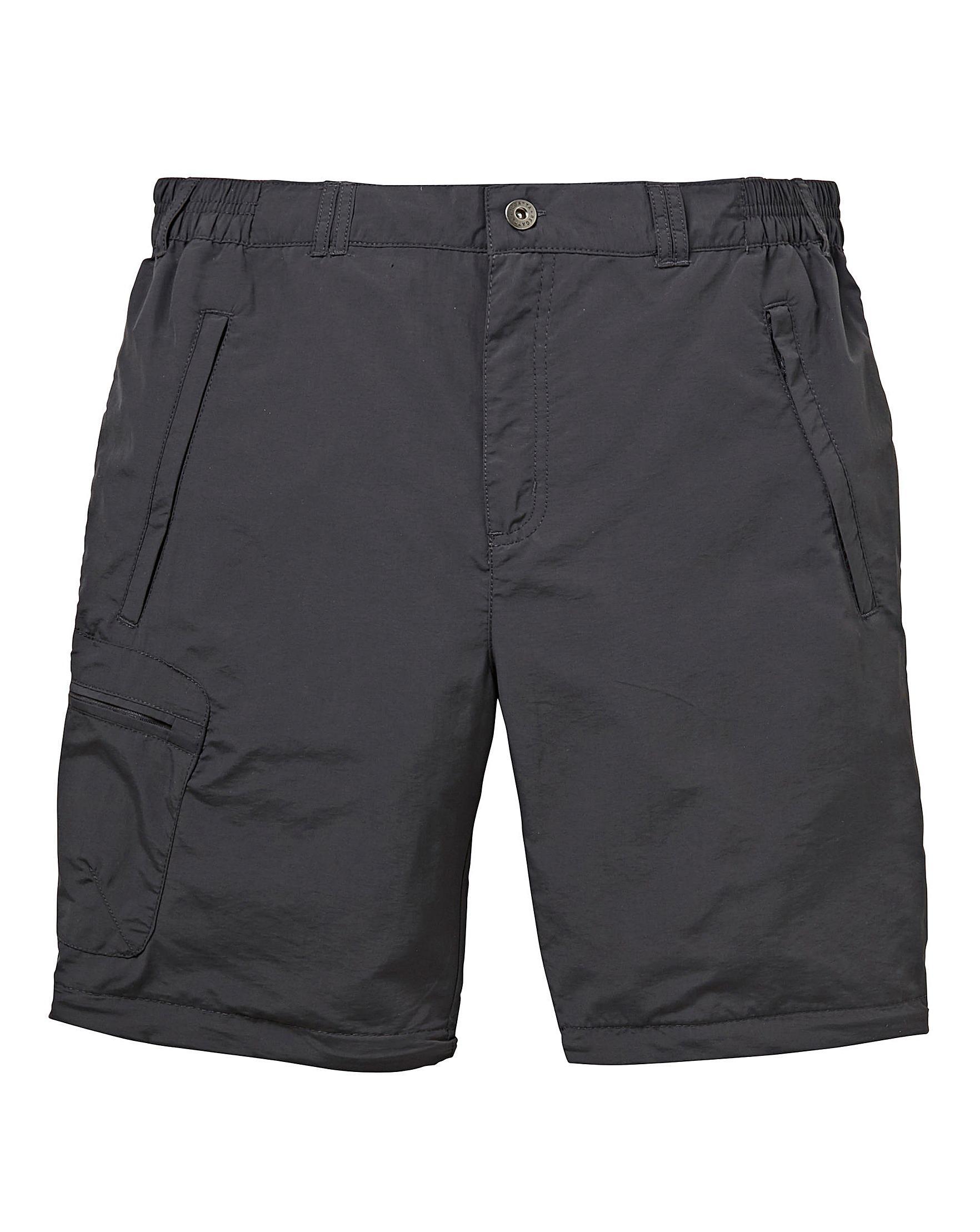 abafaa526a3 Men's Gray Leesville Zip Off Trousers 32in