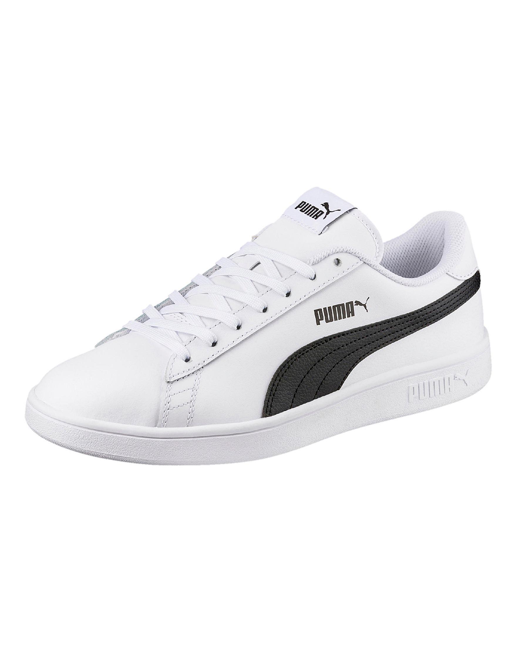 Puma Smash V2 L Trainers in White for Men - Lyst 926d41fe3