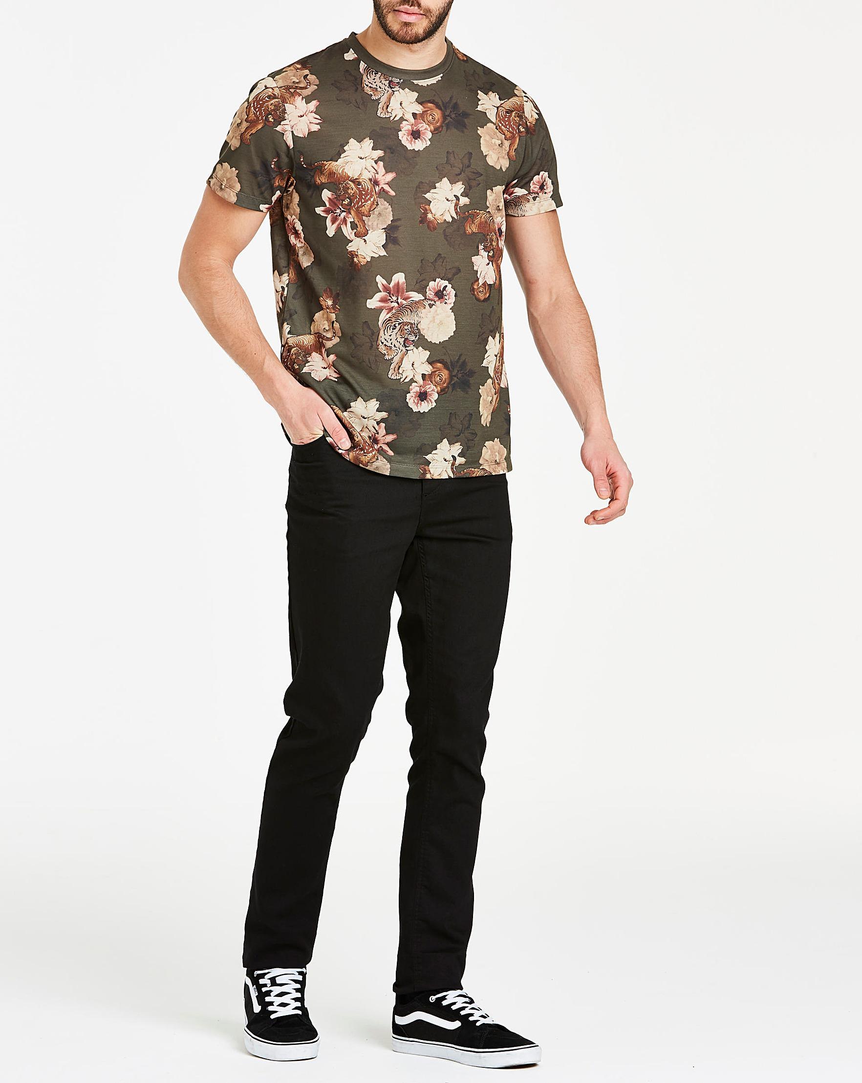 f92bc8465 Jacamo Tiger Print Sublimation T-shirt L for Men - Lyst