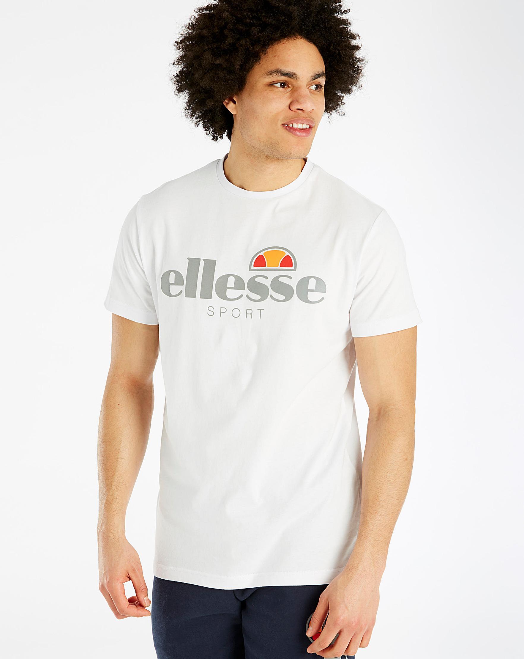 huge discount fe104 69f80 Ellesse Mazza Tee Long in White for Men - Lyst