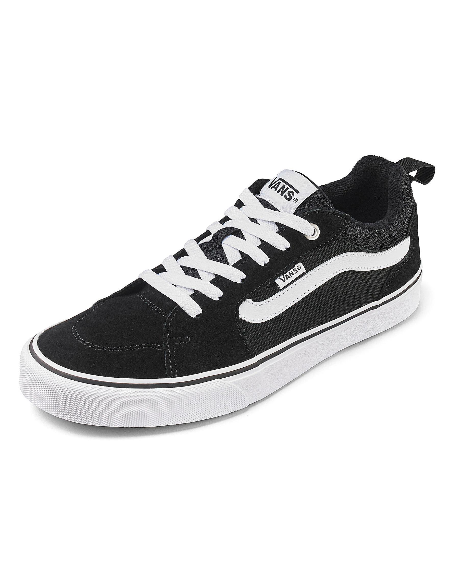 98f3f587ad Vans Filmore Stripe Trainers in Black for Men - Lyst