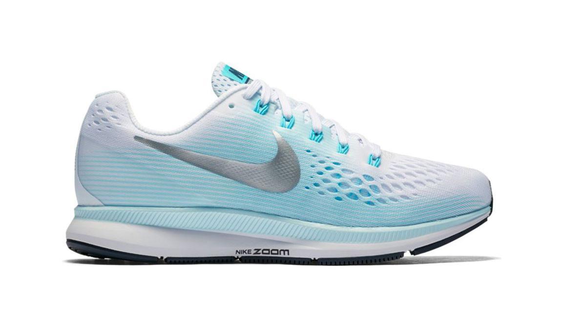 26b9bd627c18f Lyst - Nike Women s Air Zoom Pegasus 34 Running Shoe in Blue