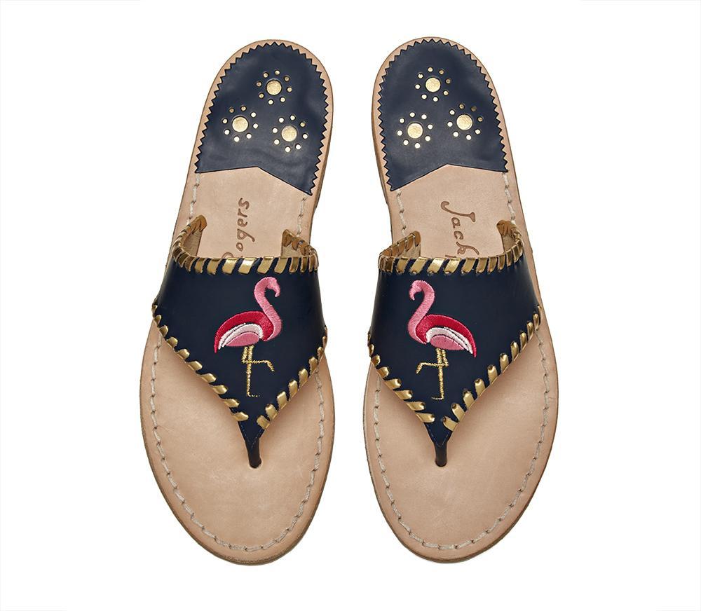 b79cae08cbe52 Lyst - Jack Rogers Exclusive Flamingo Sandal in Blue