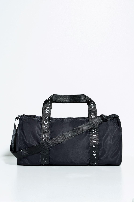 b0dd46e183b2 Lyst - Jack Wills Raven Gym Bag in Black for Men