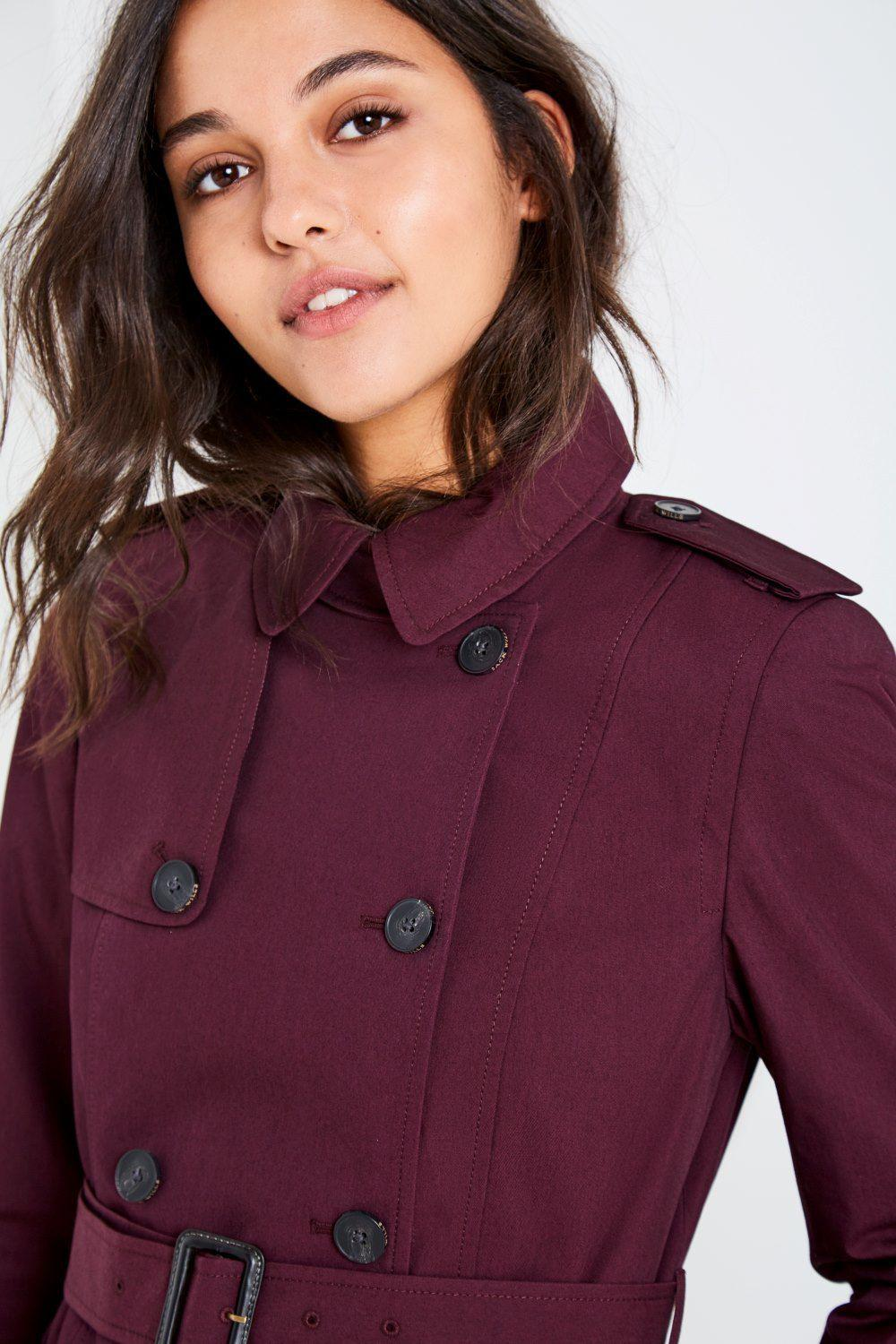 Lyst Jack Wills Ambrose Trench Coat