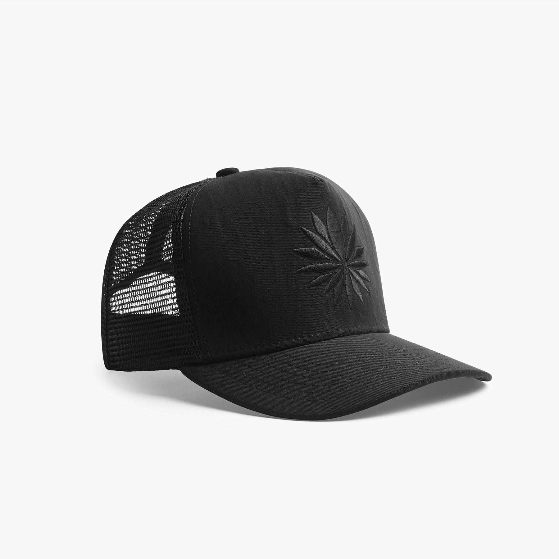 6fdfbdbb3fc Lyst - James Perse Nylon Lotus Trucker Hat in Black for Men