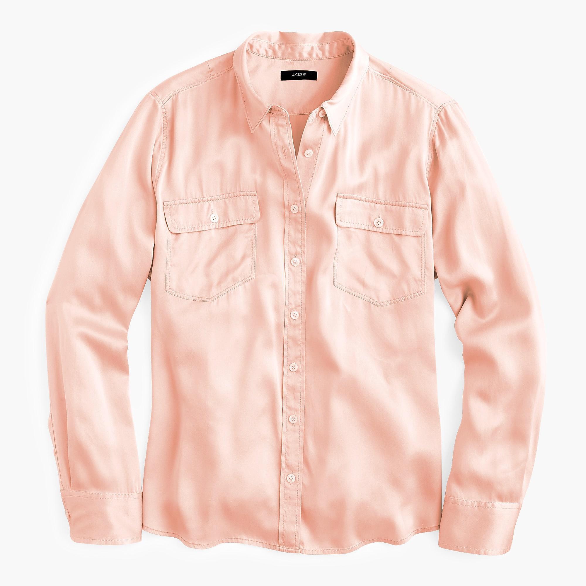 a32f0e3d3c1dc3 J.Crew Women's 2011 Blythe Shirt in Pink - Lyst