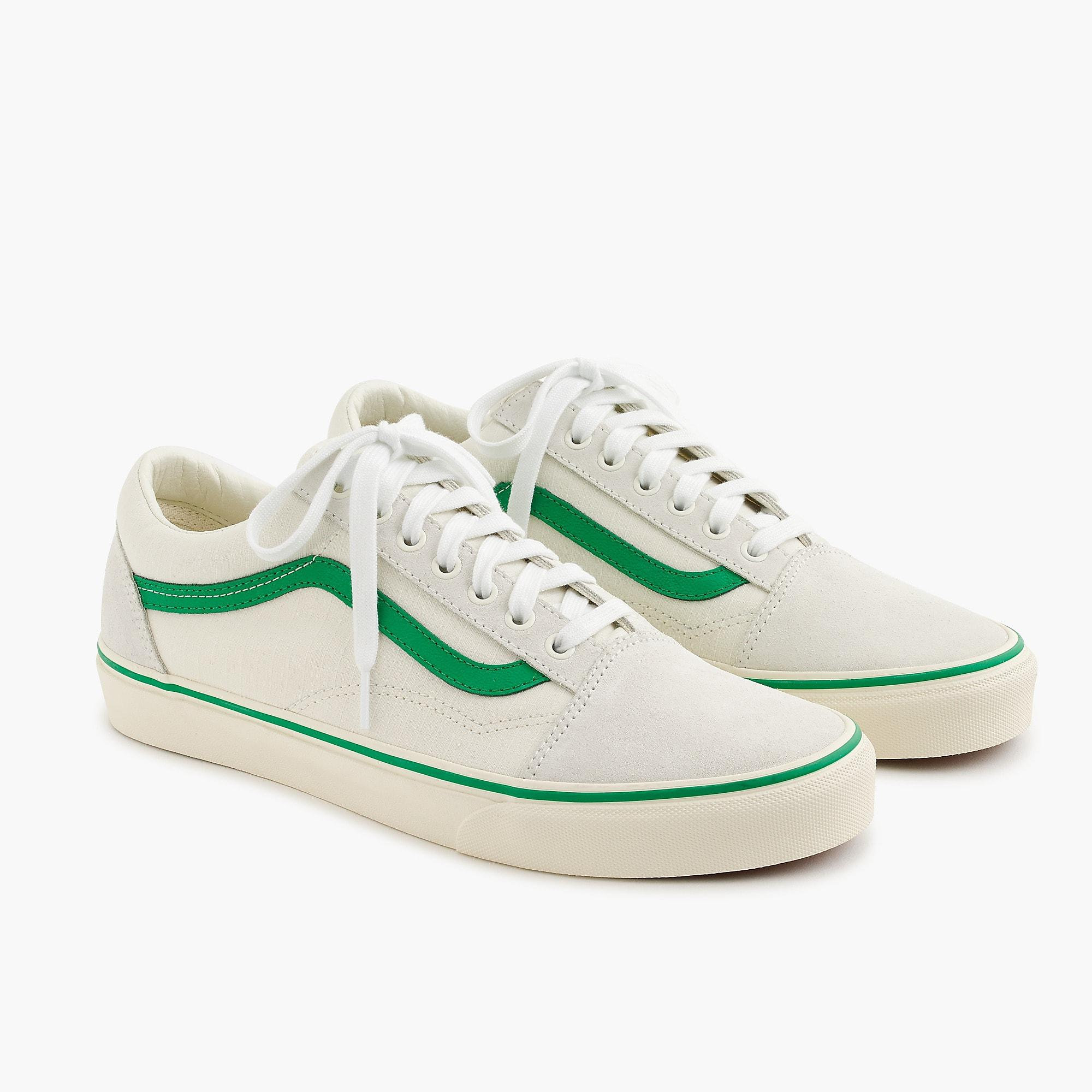 14f03764ab Vans - Green Old Skool Sneakers In Ripstop Cotton for Men - Lyst. View  fullscreen