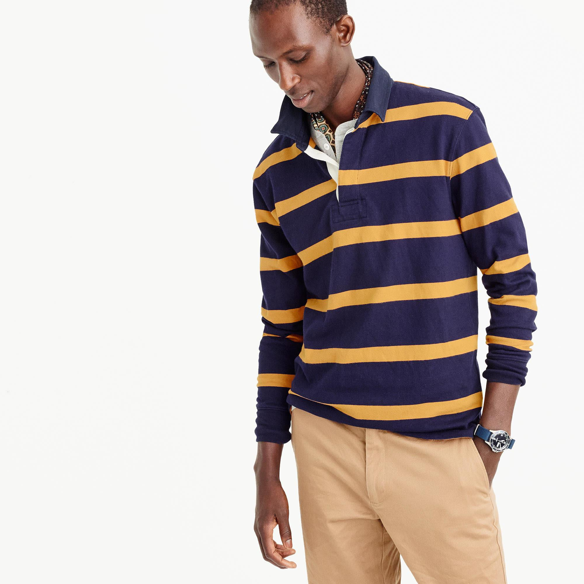 5354d63d9a6 J.Crew Rugby Shirt In Thin Stripe in Blue for Men - Save 67%