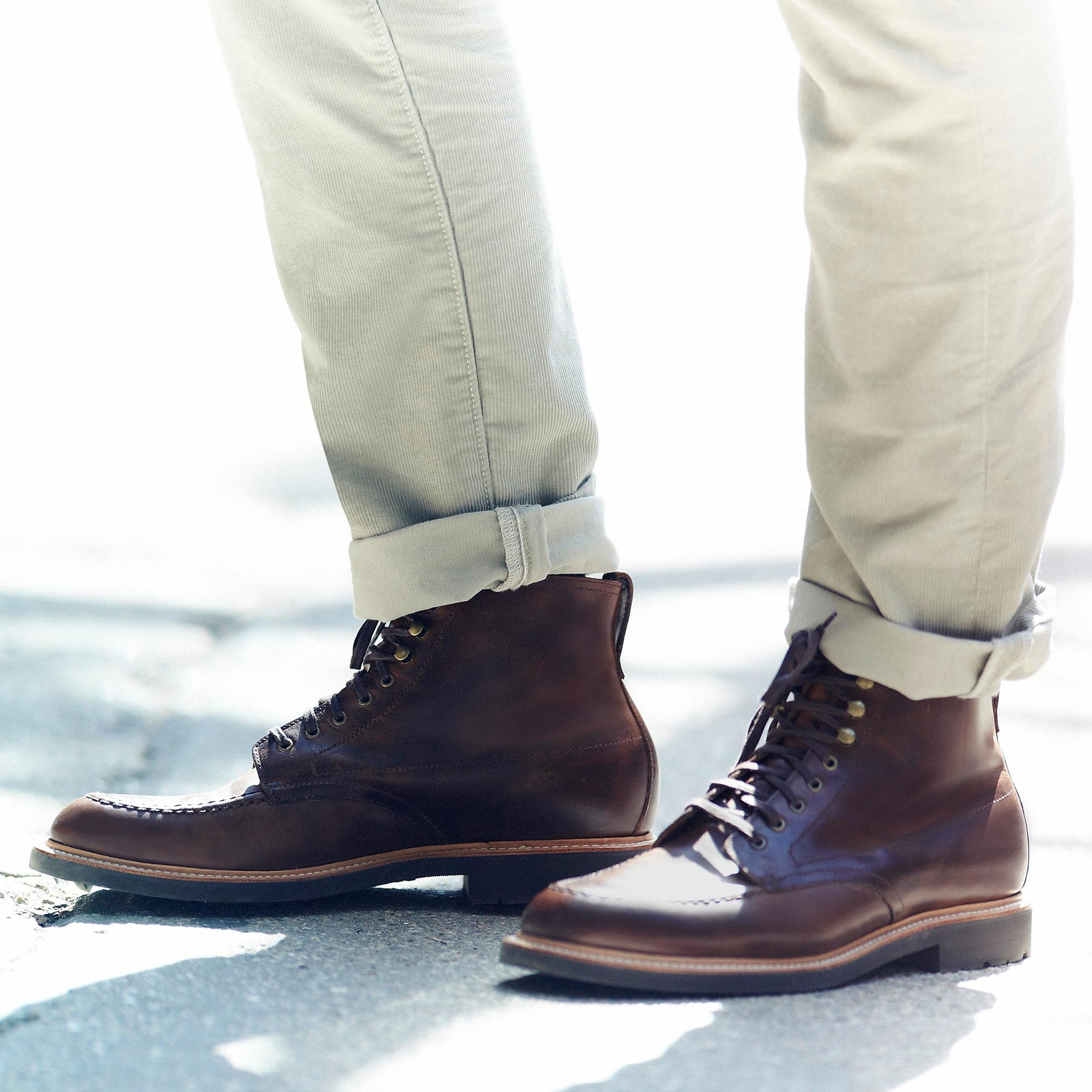 6901cc01bda J.Crew Kenton Leather Pacer Boots in Brown for Men - Lyst