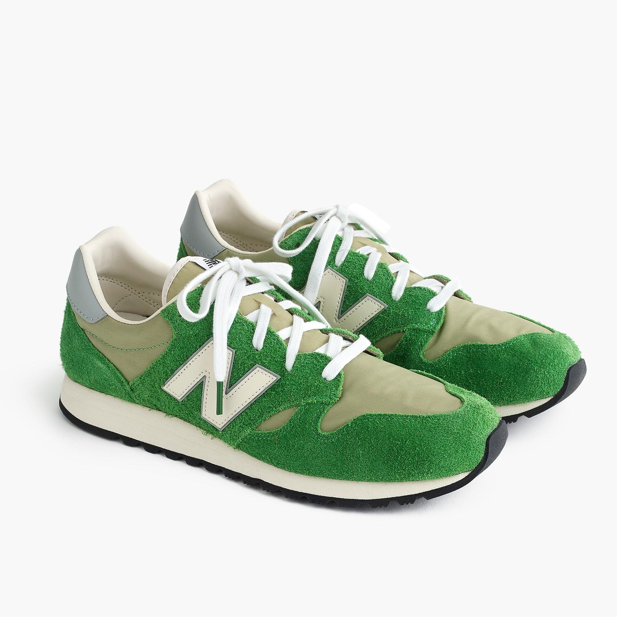 the best attitude 3218c 96c81 New Balance. Mens Green 520 Trainers In Hairy Suede
