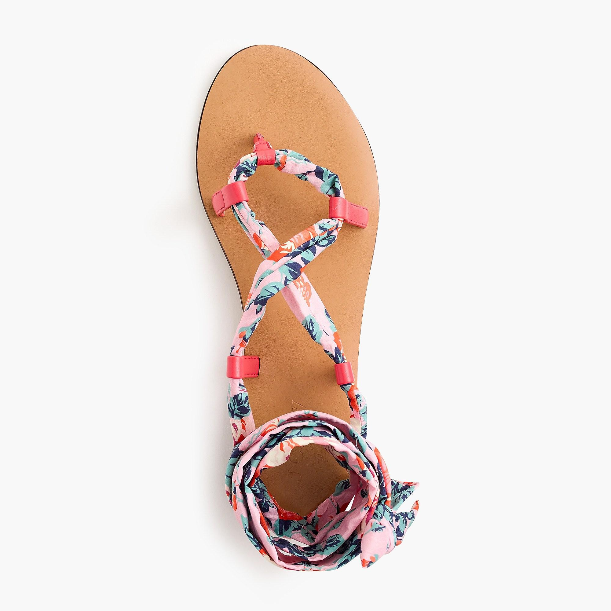 buy cheap exclusive 2014 newest sale online Wrap-around sandals in Liberty® floral manchester great sale cheap online 10tEFnHw8