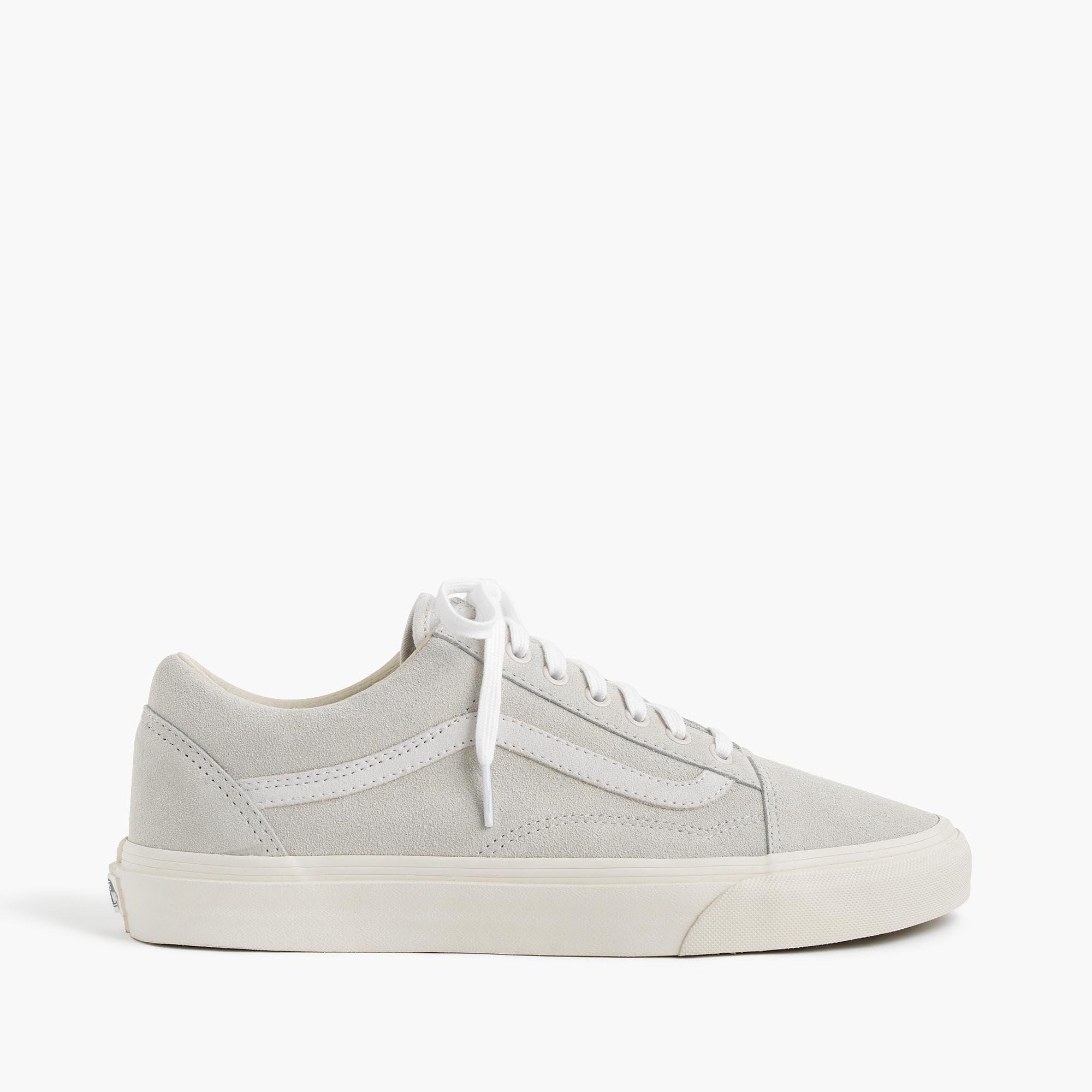 a948e33c6dd543 Lyst - J.Crew Vans Old Skool Sneakers In Suede