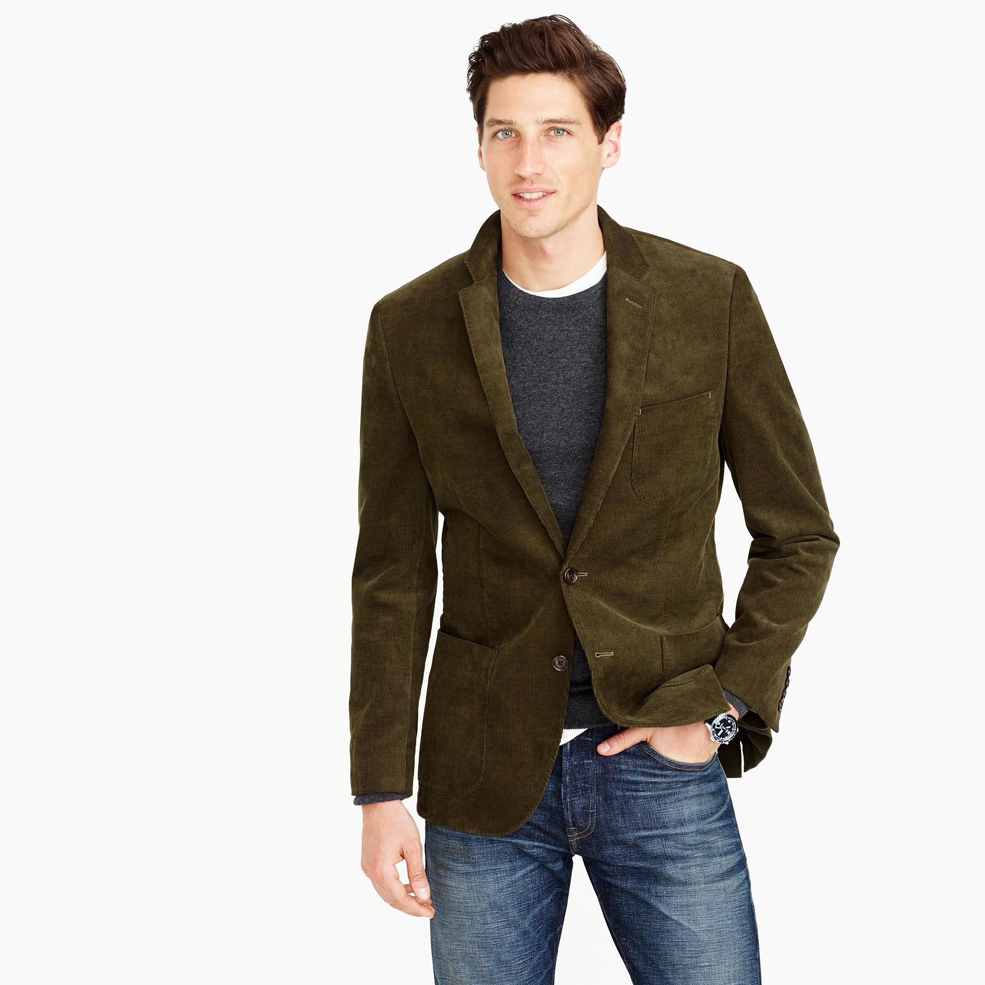 Blazers Jackets Mens: J.Crew Crosby Suit Jacket In Glen Plaid American