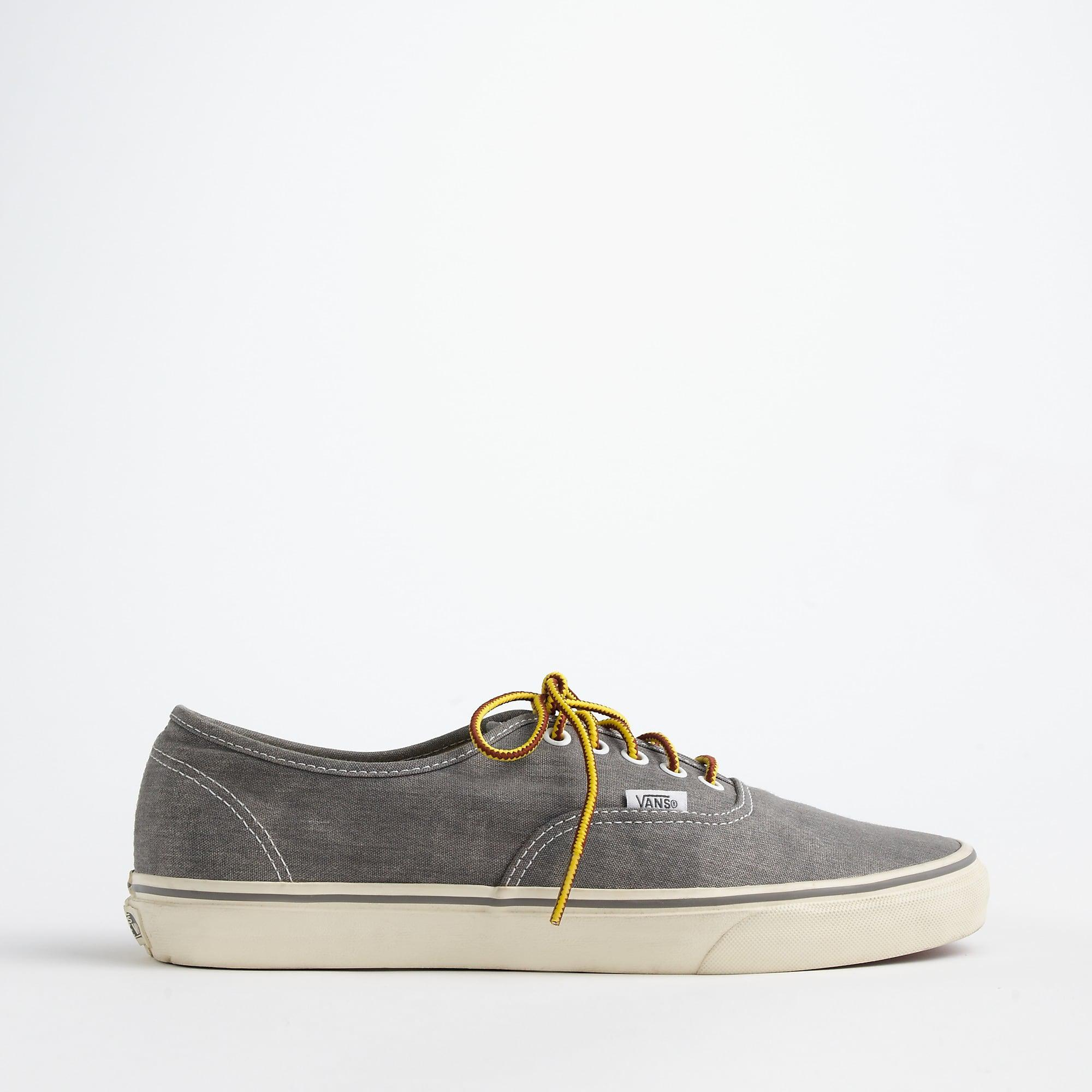 38e20c6af41 ... Washed Canvas Authentic Sneakers for Men - Lyst. View fullscreen