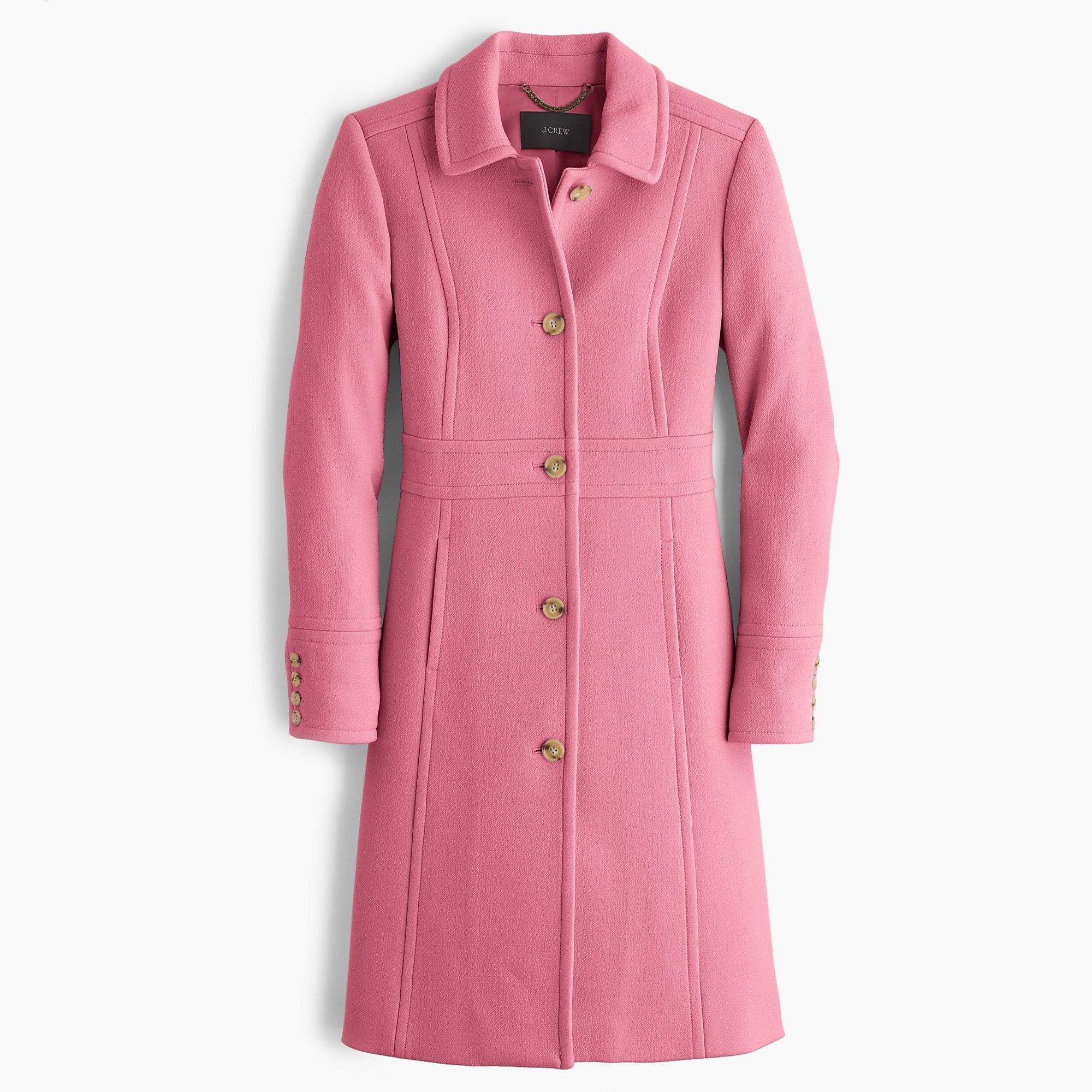 894373fa9 J.Crew Italian Double-cloth Wool Lady Day Coat With Thinsulate in ...