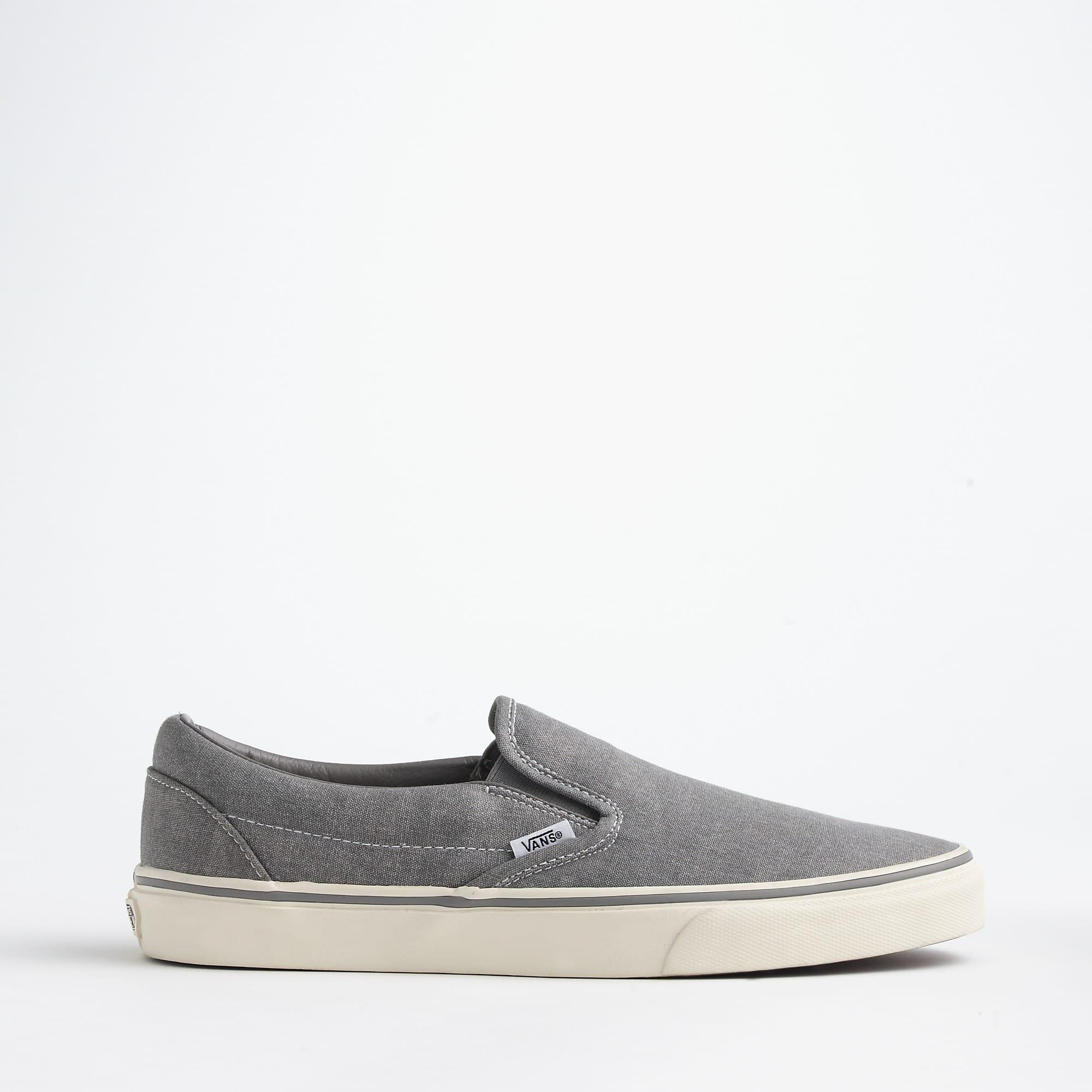 a77e708c30 Vans - Metallic Washed Canvas Classic Slip-on Sneakers for Men - Lyst. View  fullscreen